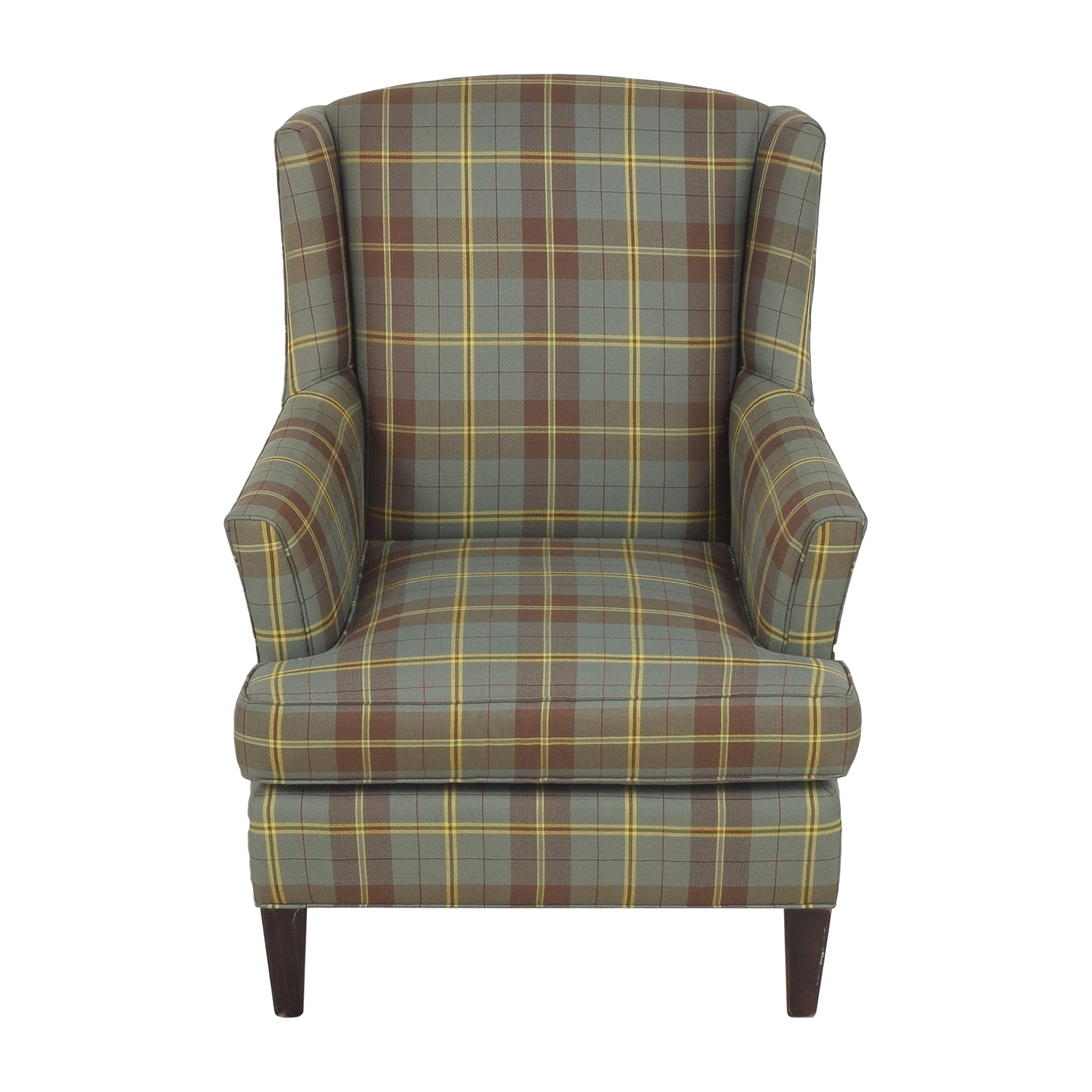 Crate & Barrel Crate & Barrel Wingback Armchair Chairs