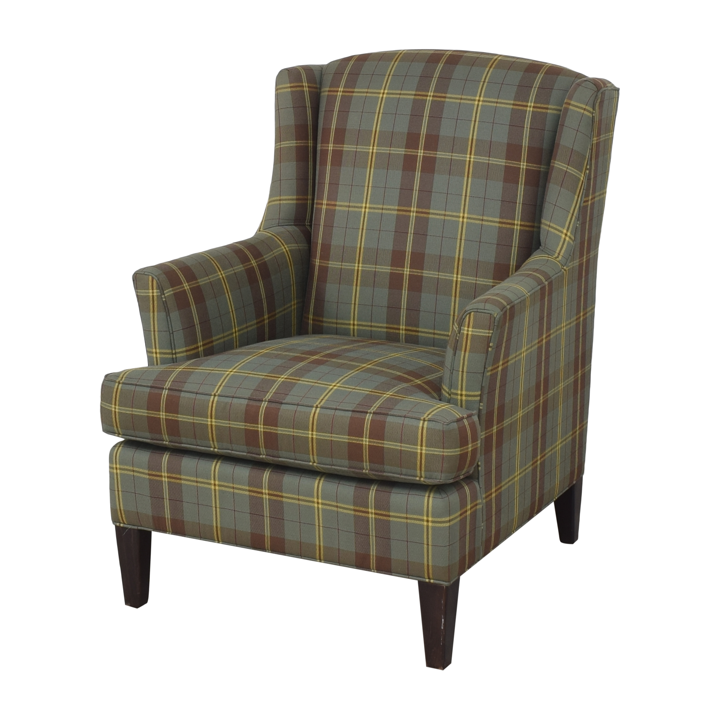 Crate & Barrel Wingback Armchair / Accent Chairs