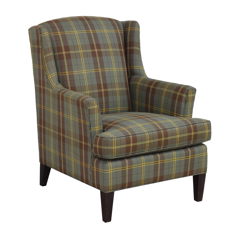 buy Crate & Barrel Wingback Armchair Crate & Barrel