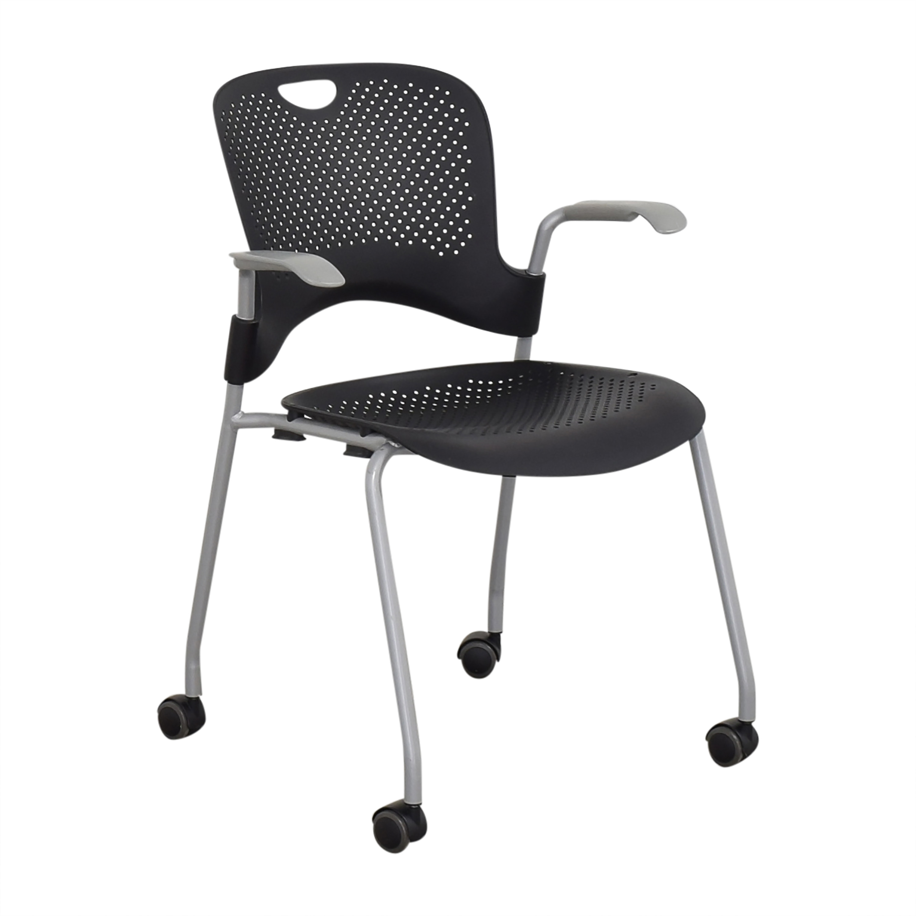 shop Herman Miller Caper Stacking Chair Herman Miller Home Office Chairs
