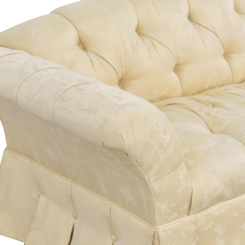 Tufted Bench Cushion Sofa pa