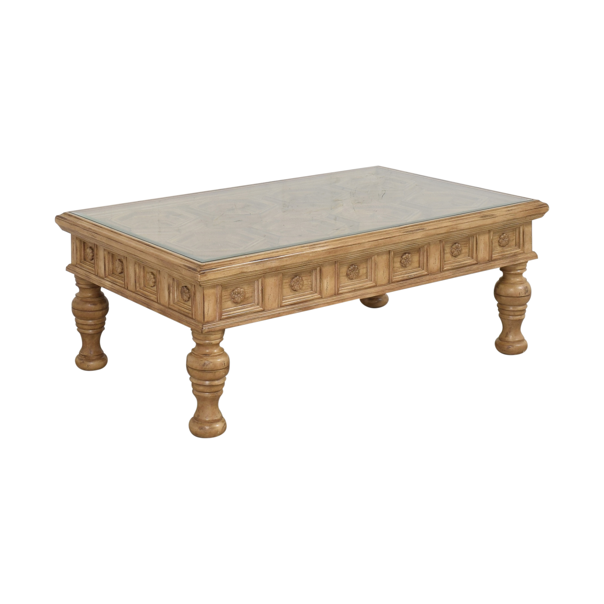 shop Carved Coffee Table