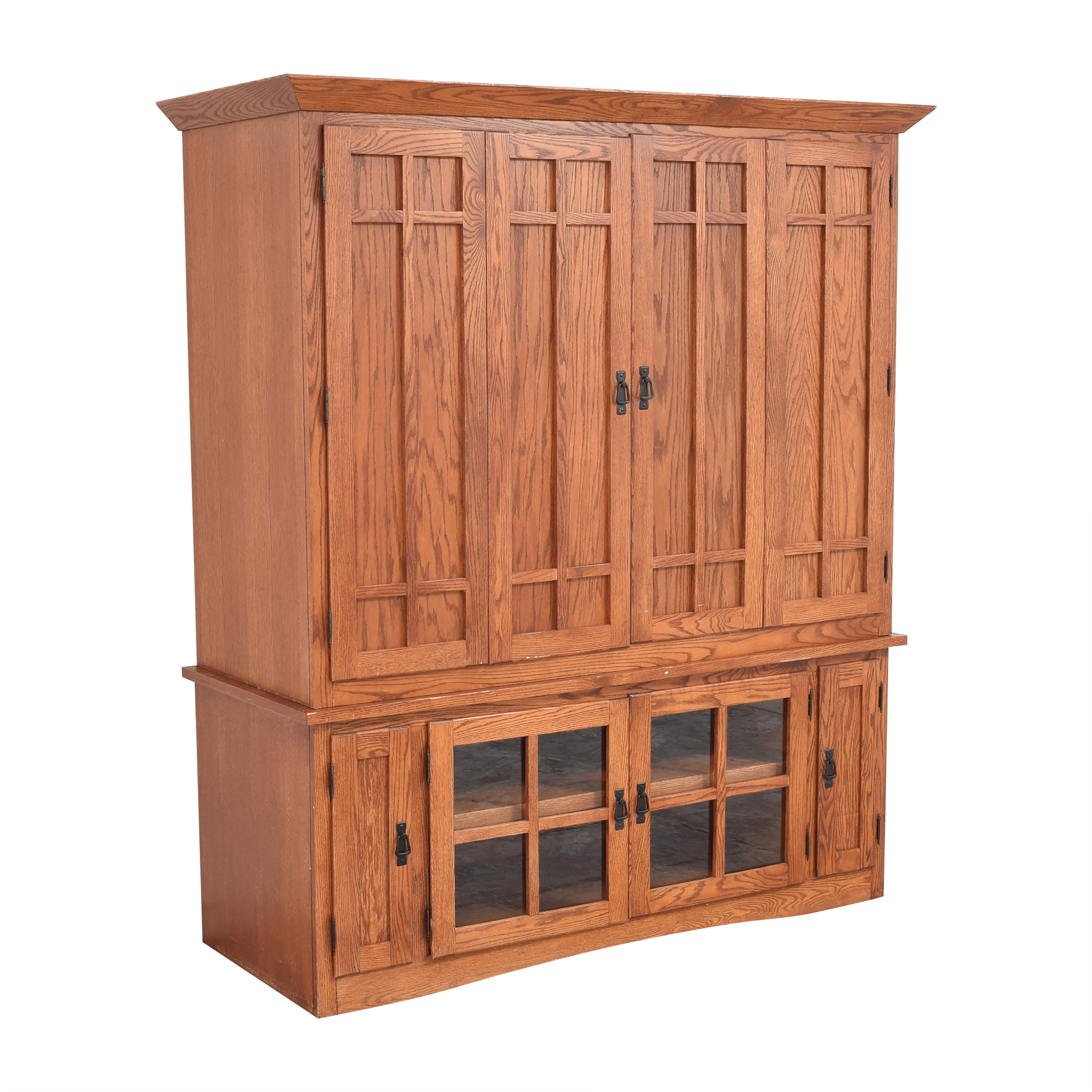 Mission-Style Media Cabinet ct
