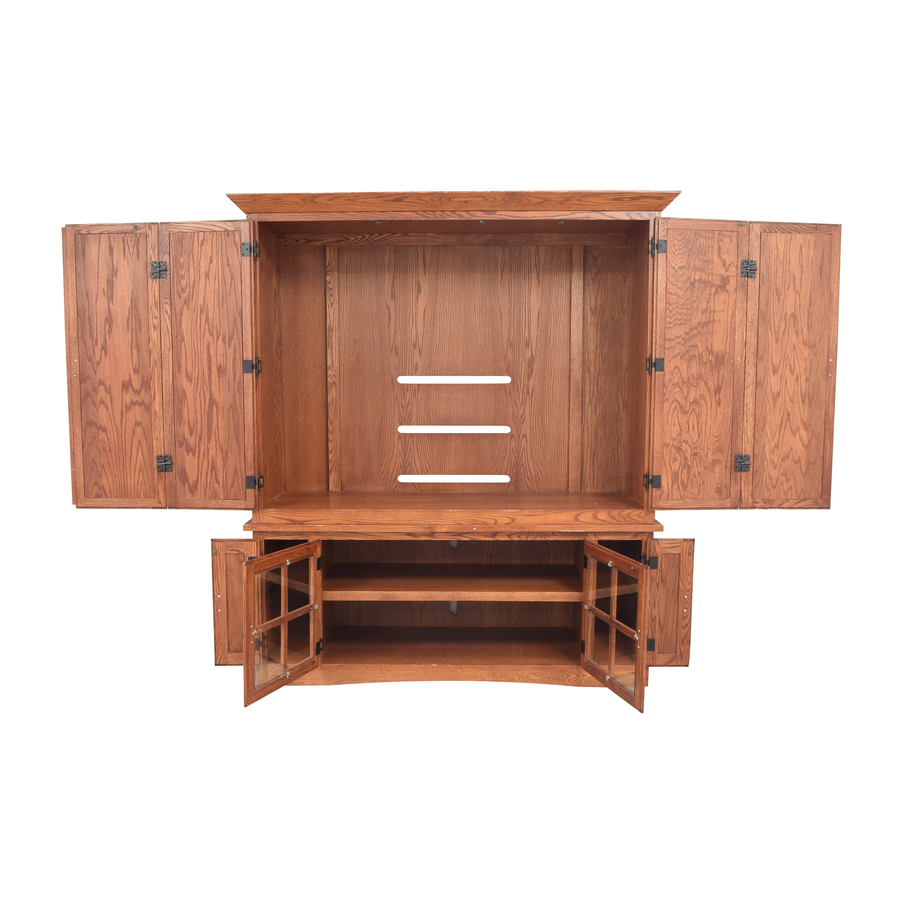 Mission-Style Media Cabinet