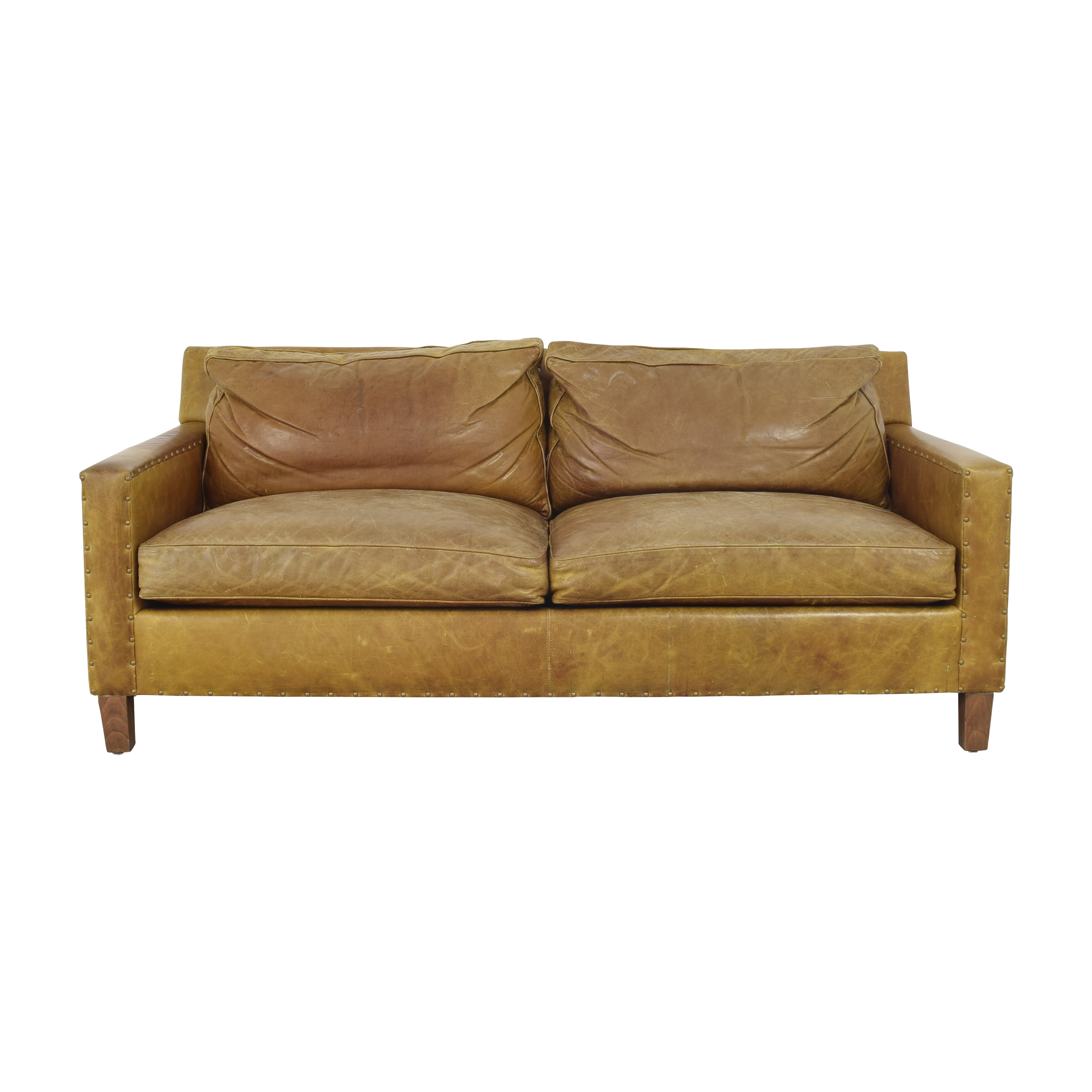 Stickley Furniture Stickley Furniture Two Cushion Modern Sofa for sale