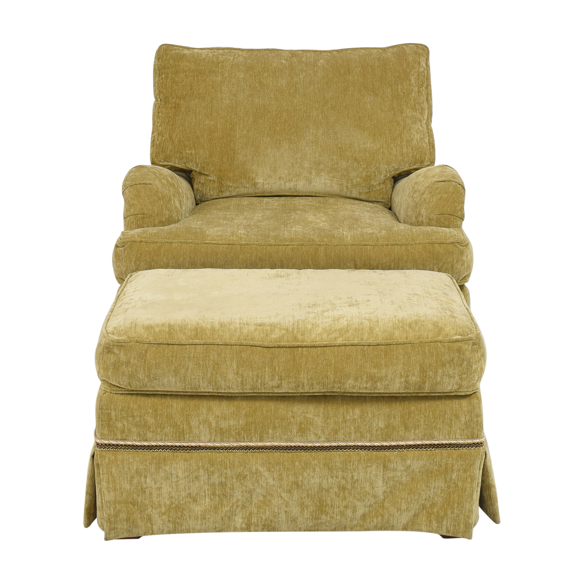 Domain Home Chair with Ottoman / Chairs