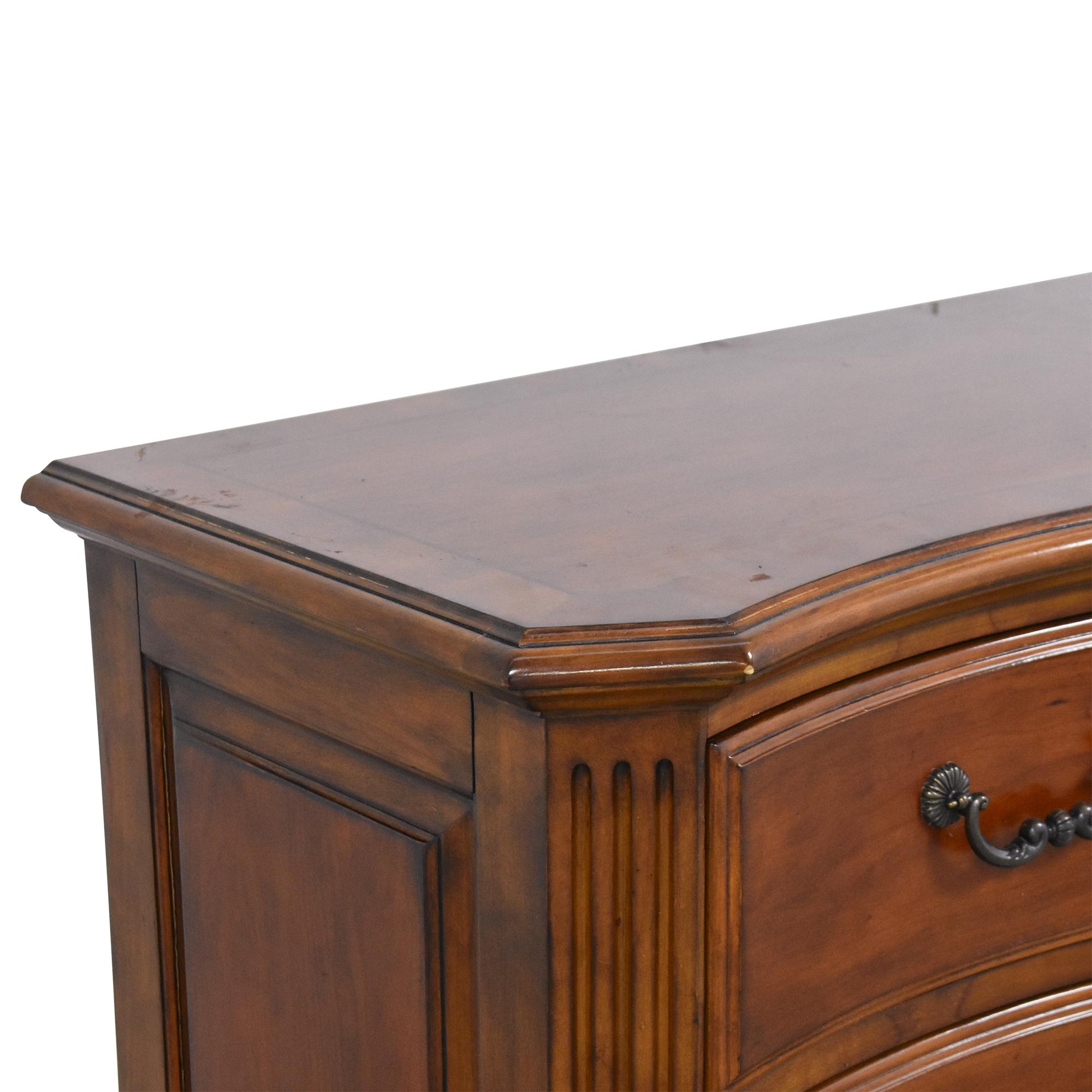Ethan Allen Ethan Allen Marco Serpentine Dresser on sale