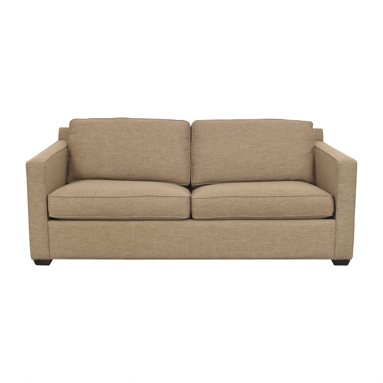 Crate & Barrel Crate & Barrel Barrett Sleeper Sofa on sale