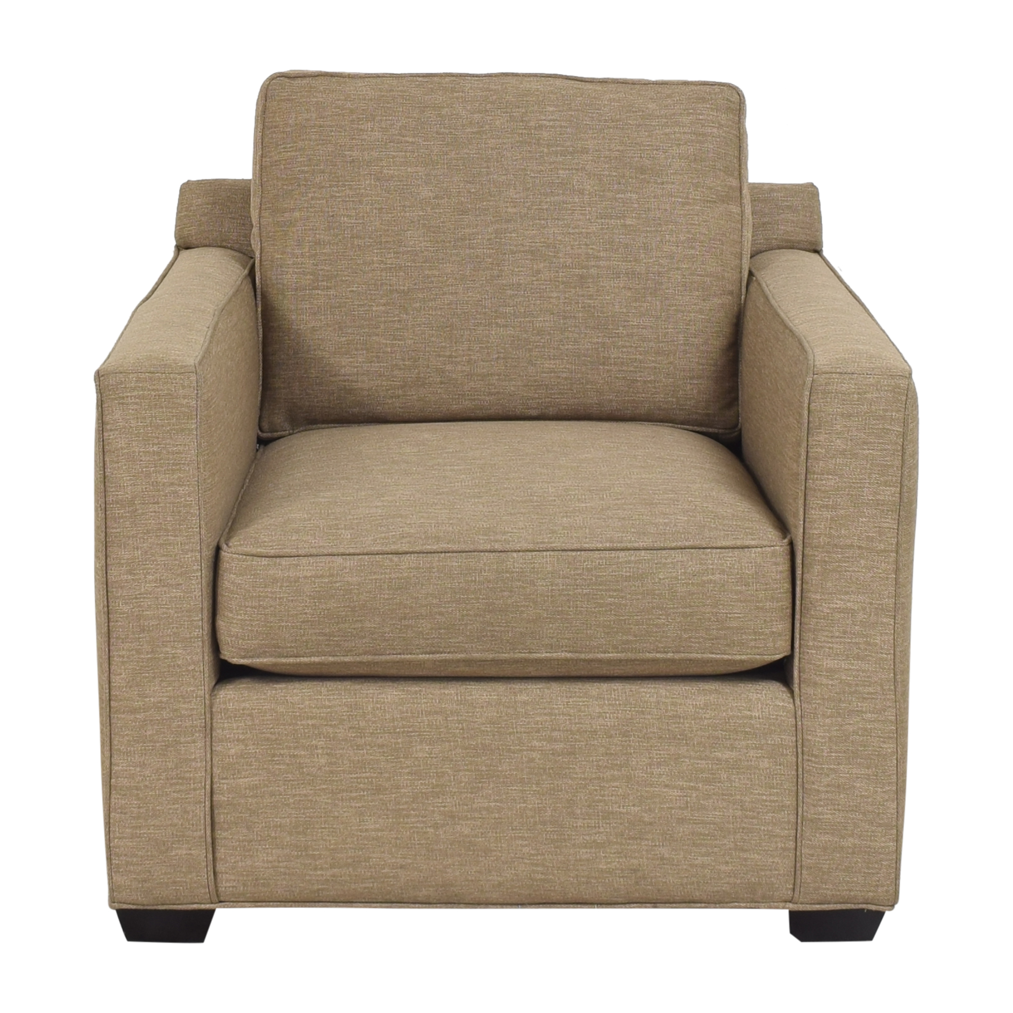 Crate & Barrel Crate & Barrel Barrett Track Arm Chair for sale