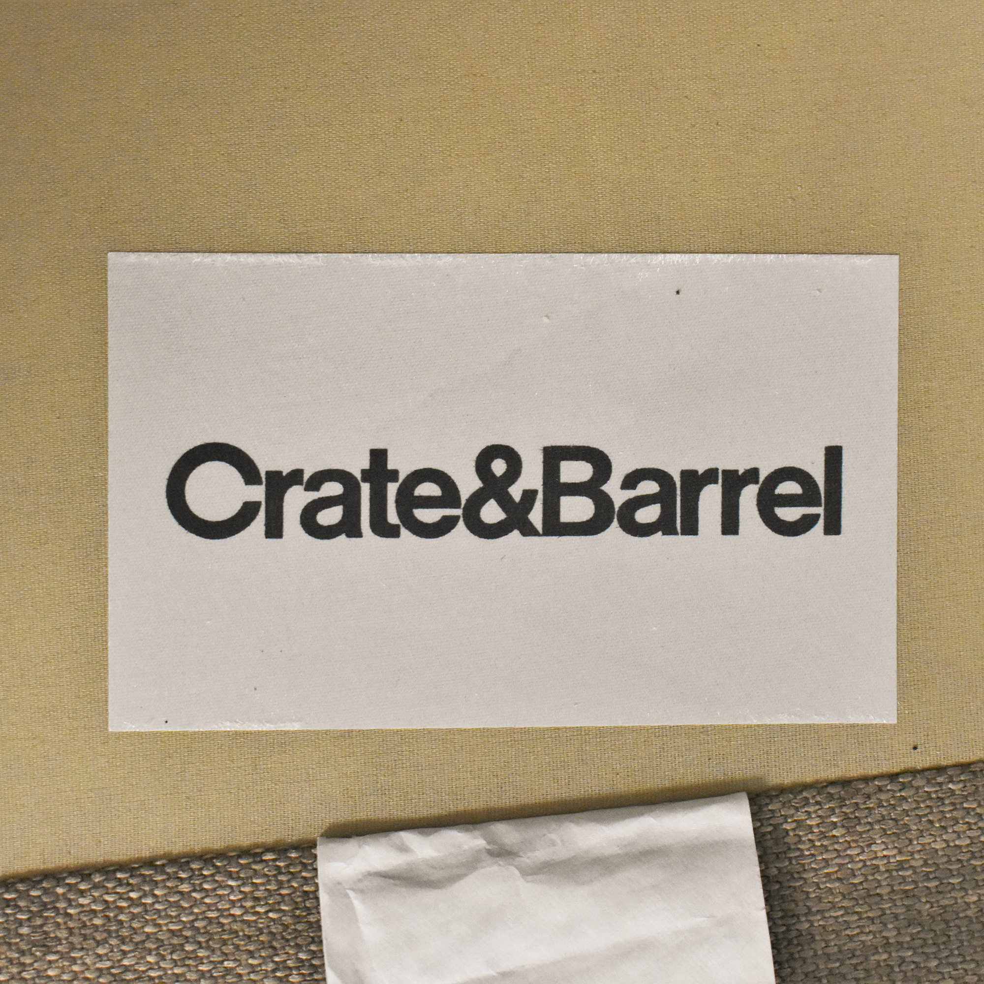 buy Crate & Barrel Barrett Track Arm Chair Crate & Barrel Accent Chairs