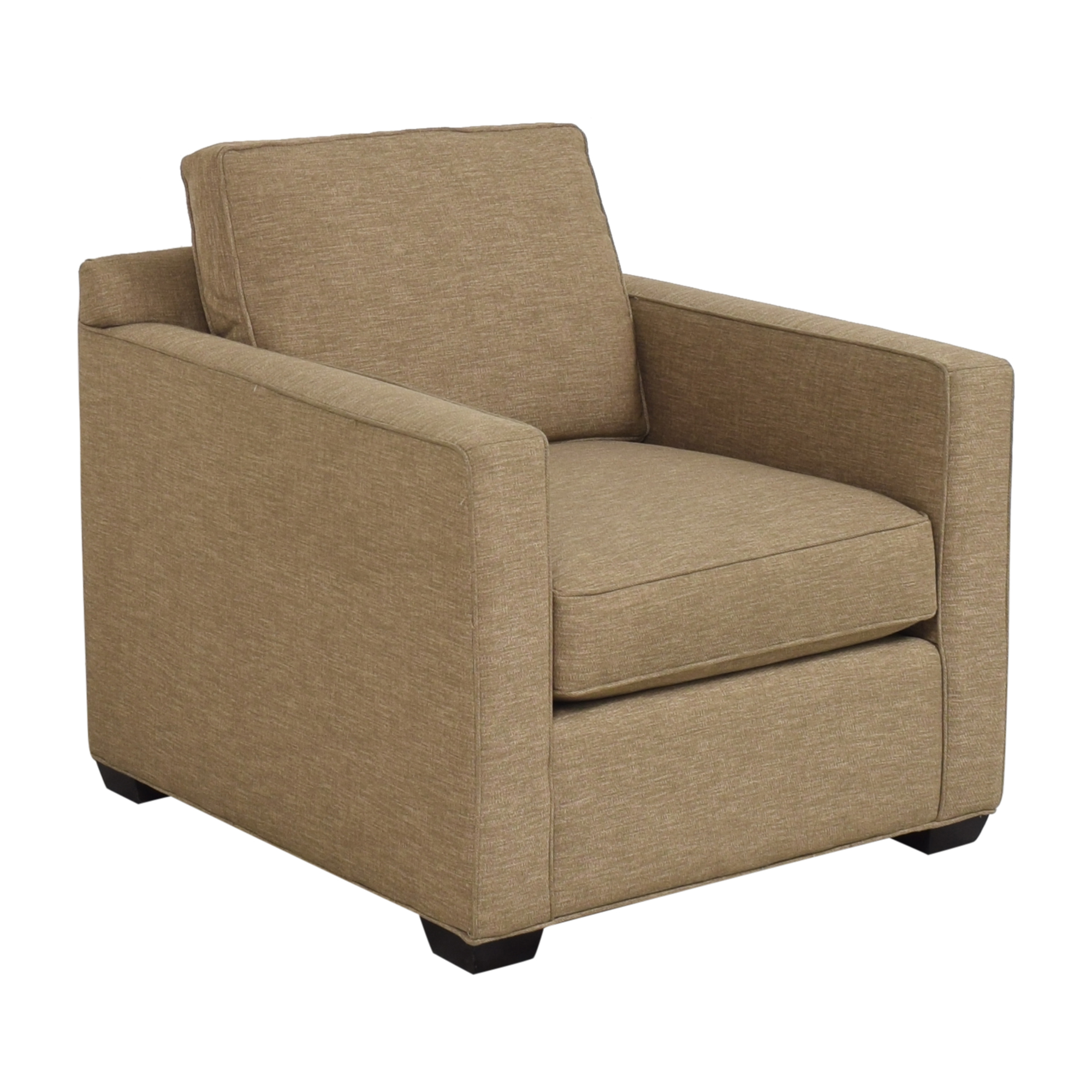 Crate & Barrel Barrett Track Arm Chair sale