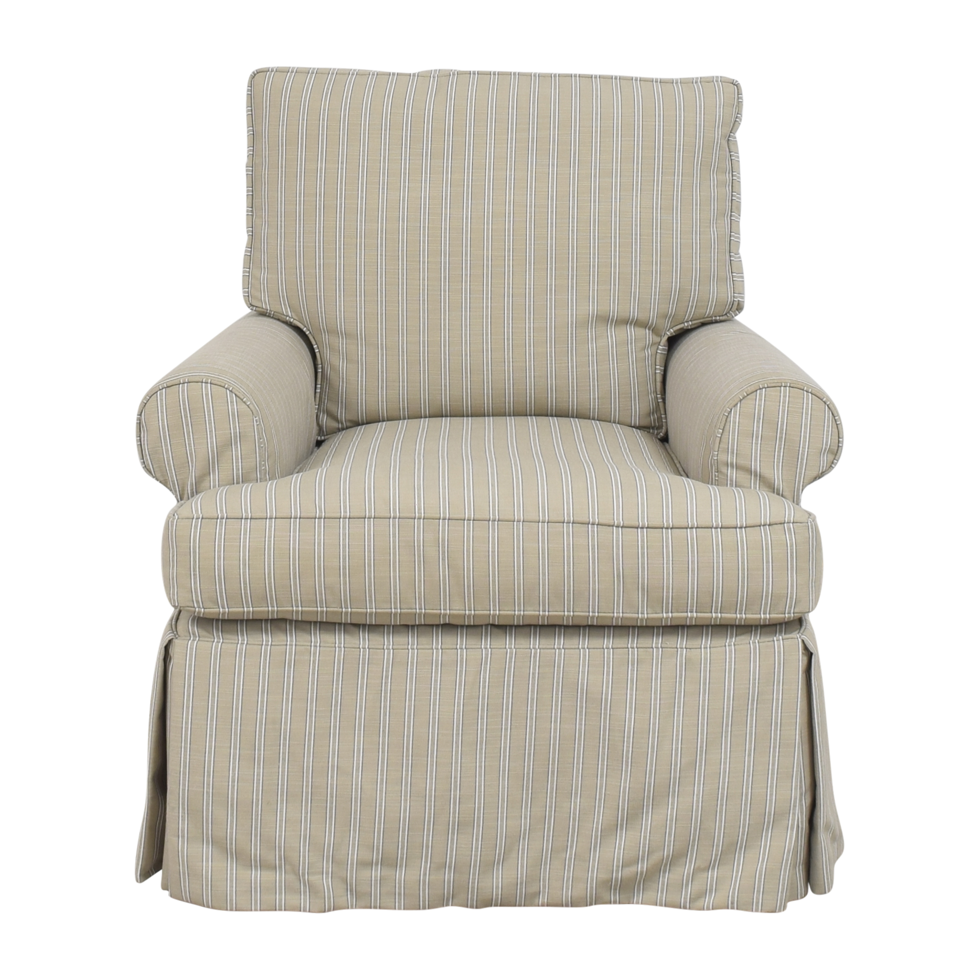 buy Restoration Hardware Skirted Glider  Restoration Hardware Chairs