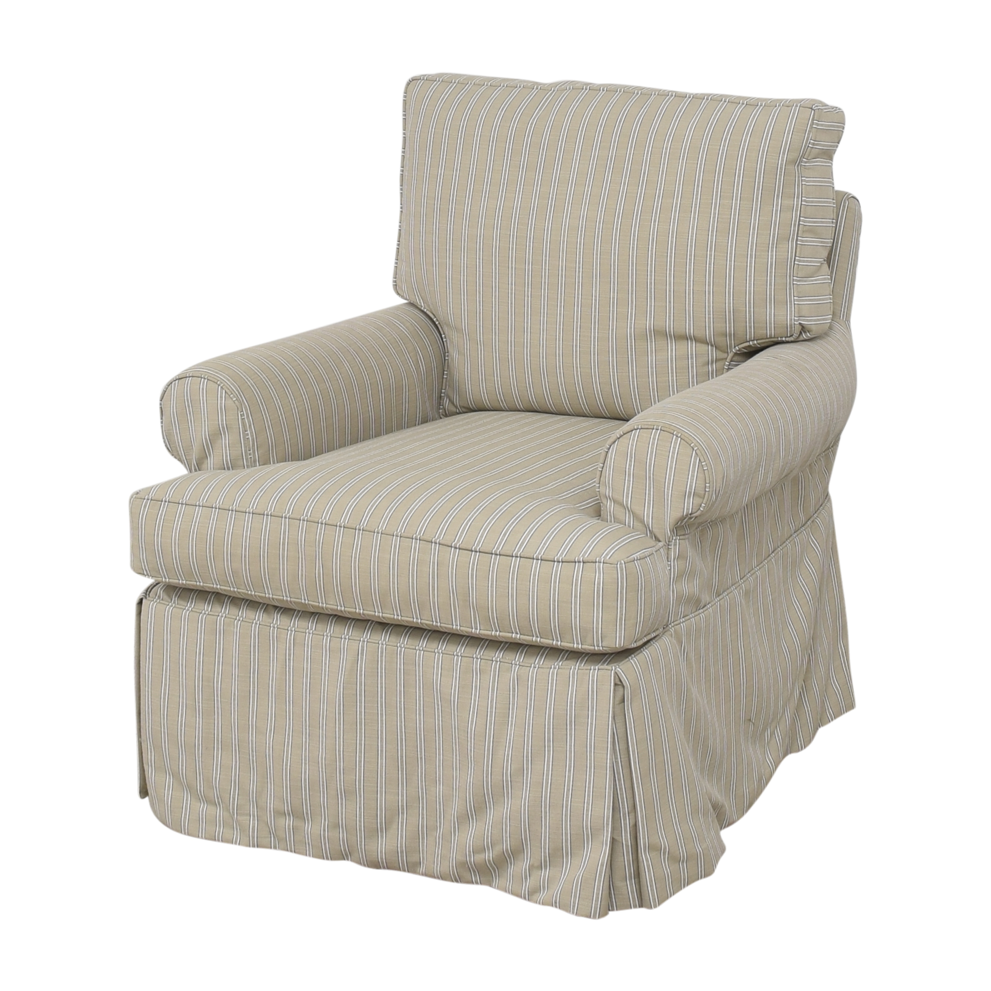 buy Restoration Hardware Skirted Glider  Restoration Hardware Chairs