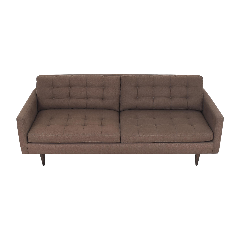 buy Crate & Barrel Petrie Midcentury Sofa Crate & Barrel Classic Sofas