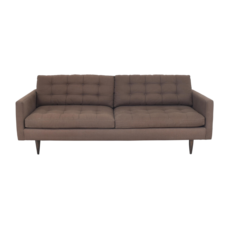 buy Crate & Barrel Crate & Barrel Petrie Midcentury Sofa online