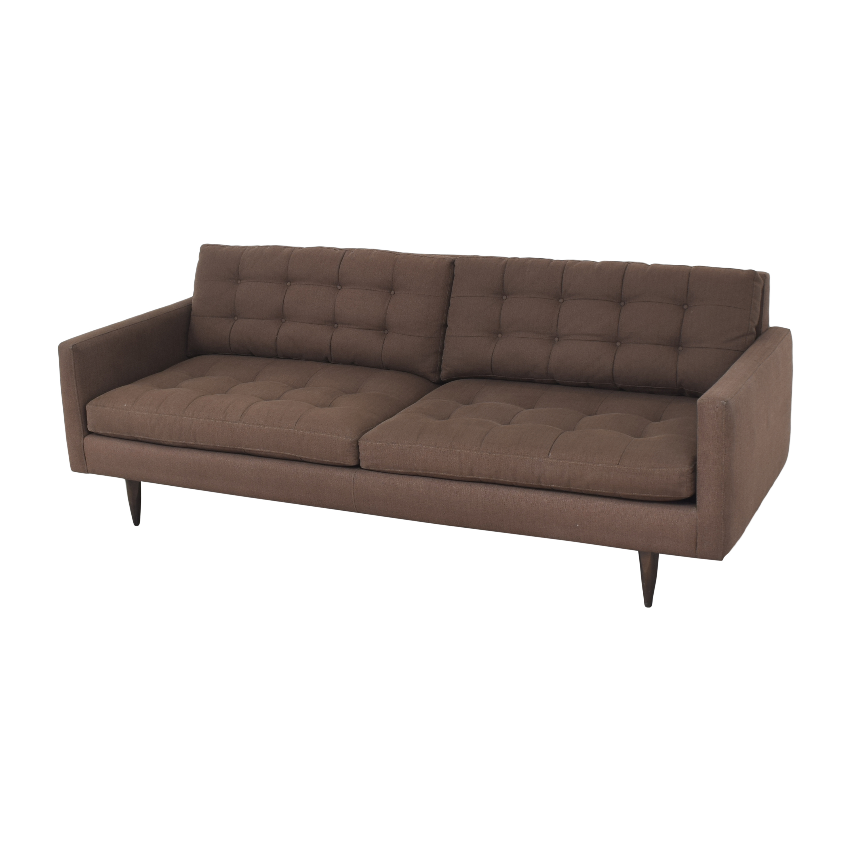 Crate & Barrel Crate & Barrel Petrie Midcentury Sofa Classic Sofas