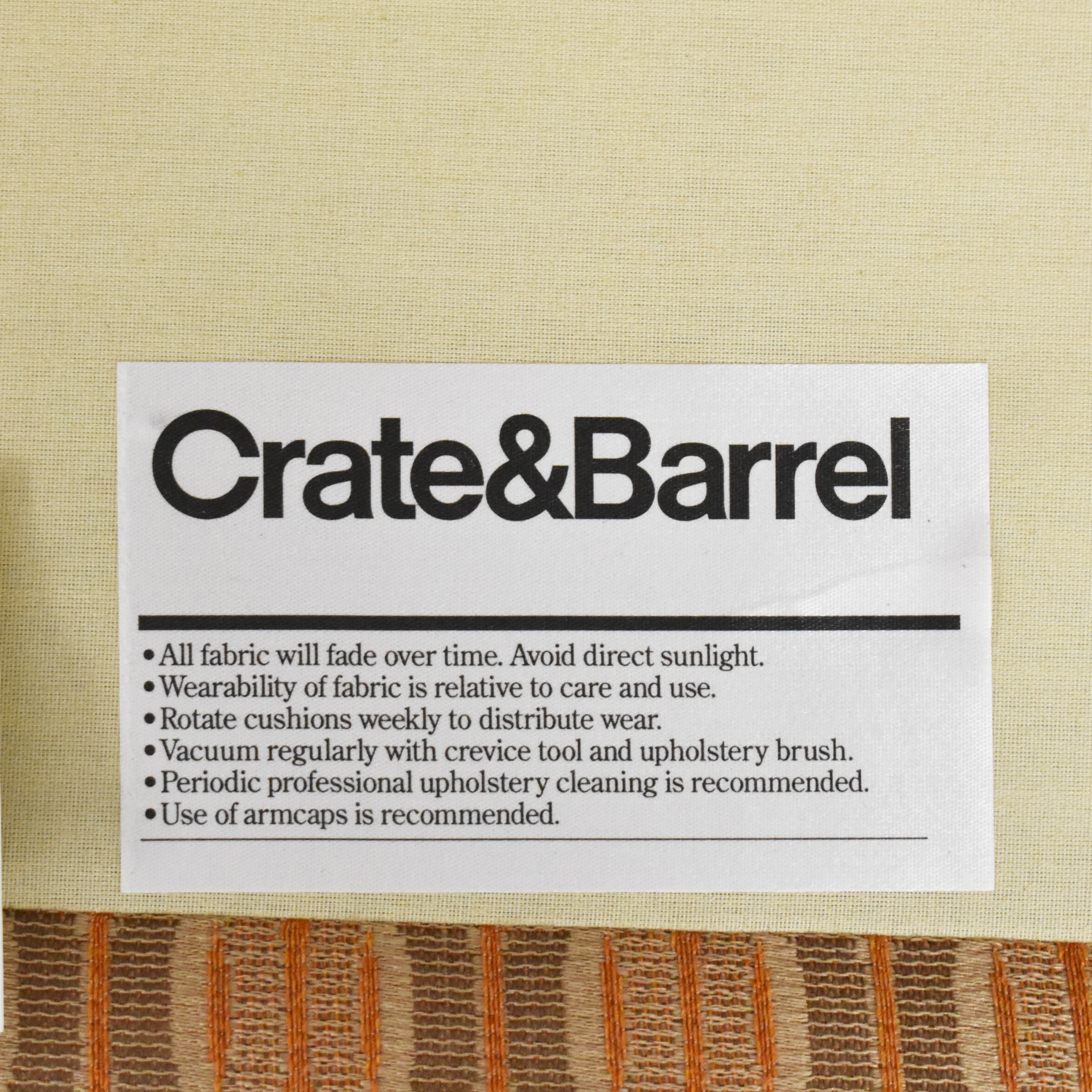 buy Crate & Barrel Chaise Lounge Crate & Barrel Chaises