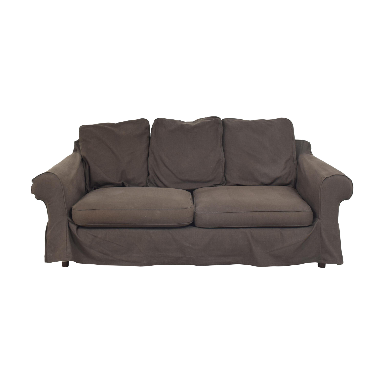 Slipcovered Two Cushion Sofa nyc