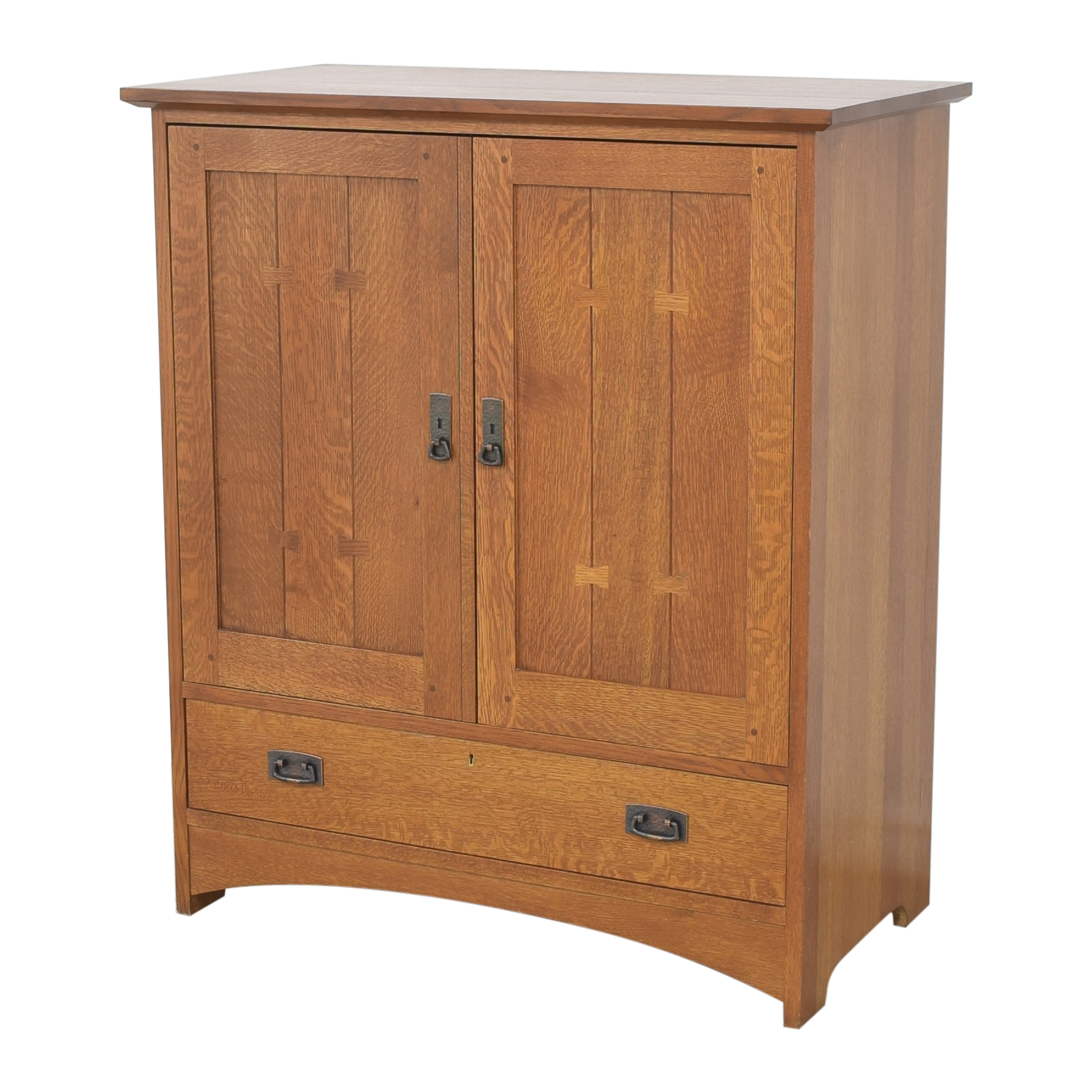shop Stickley Furniture Media Cabinet Stickley Furniture