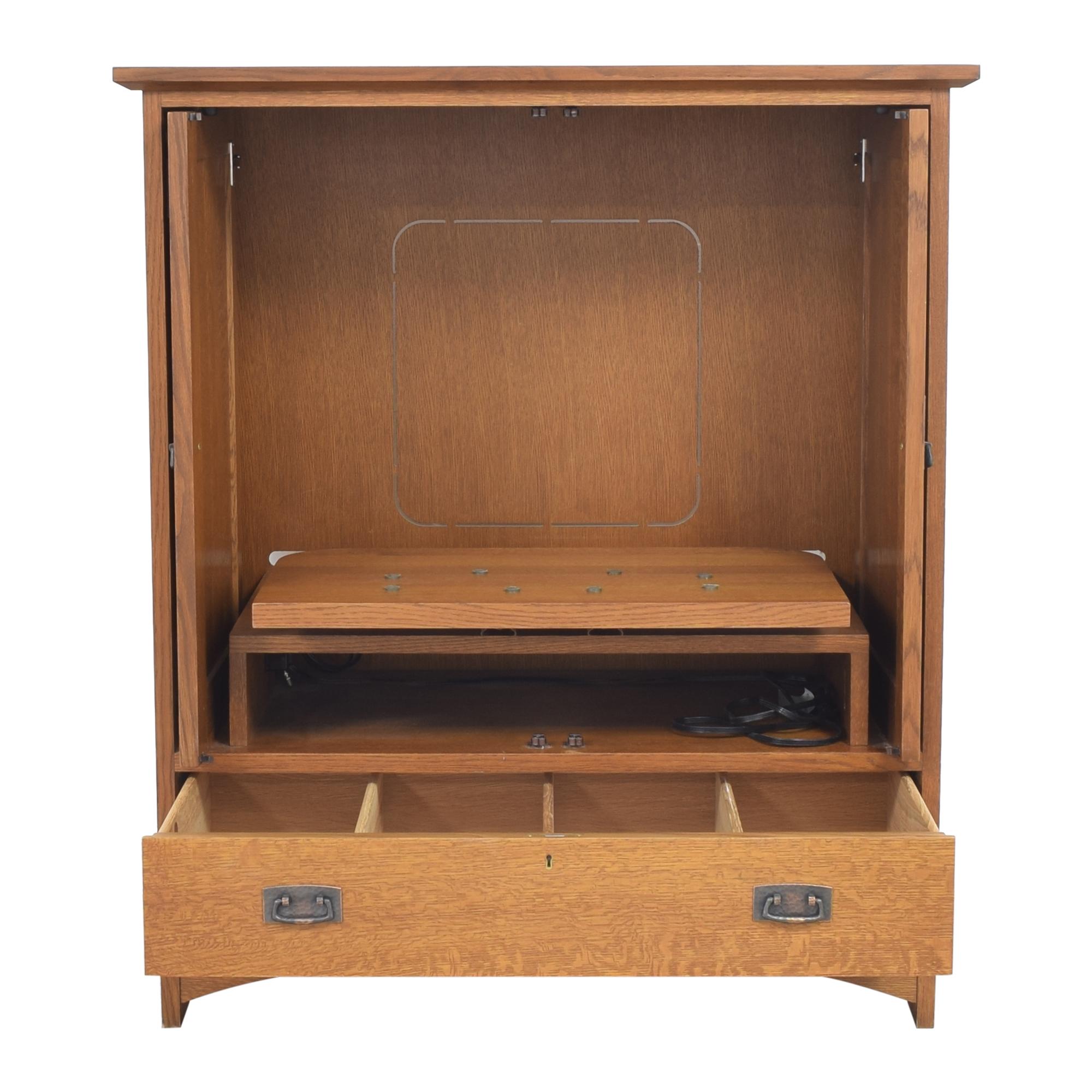 Stickley Furniture Stickley Furniture Media Cabinet dimensions