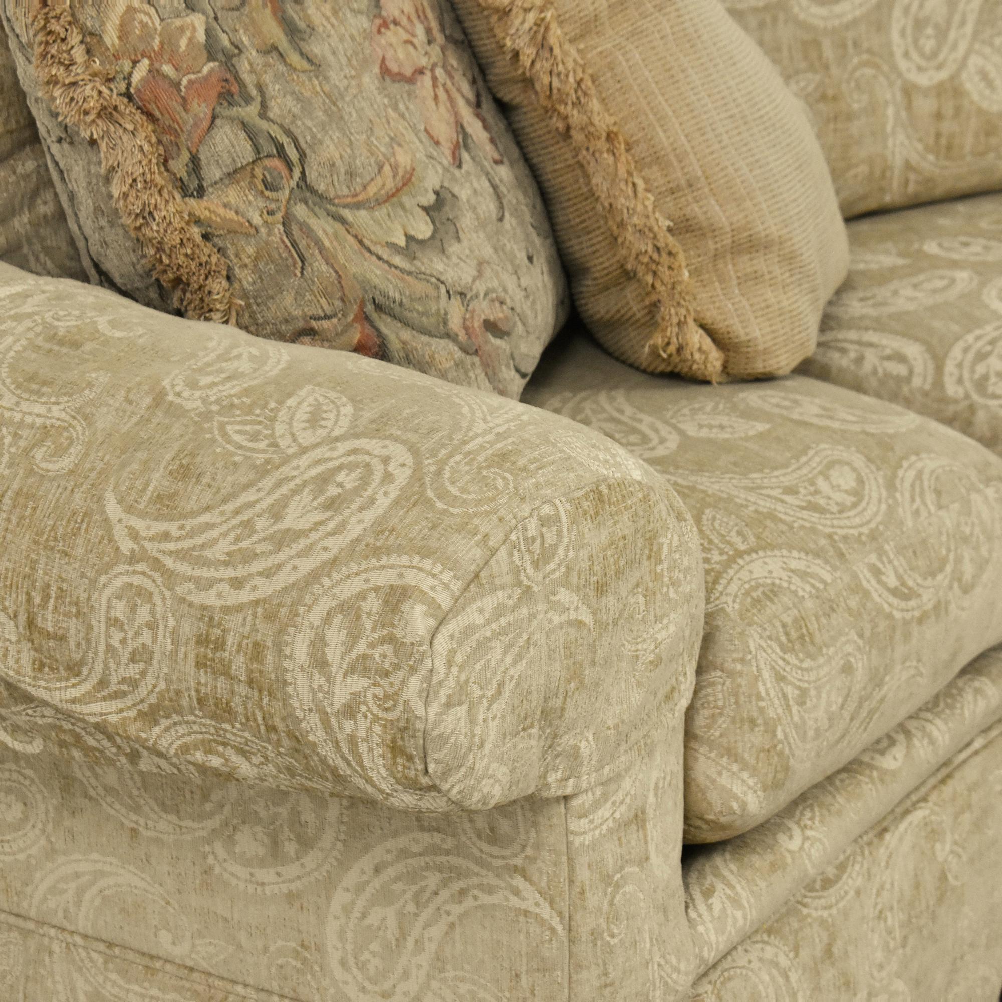 Thomasville Wedge Sofa / Sofas