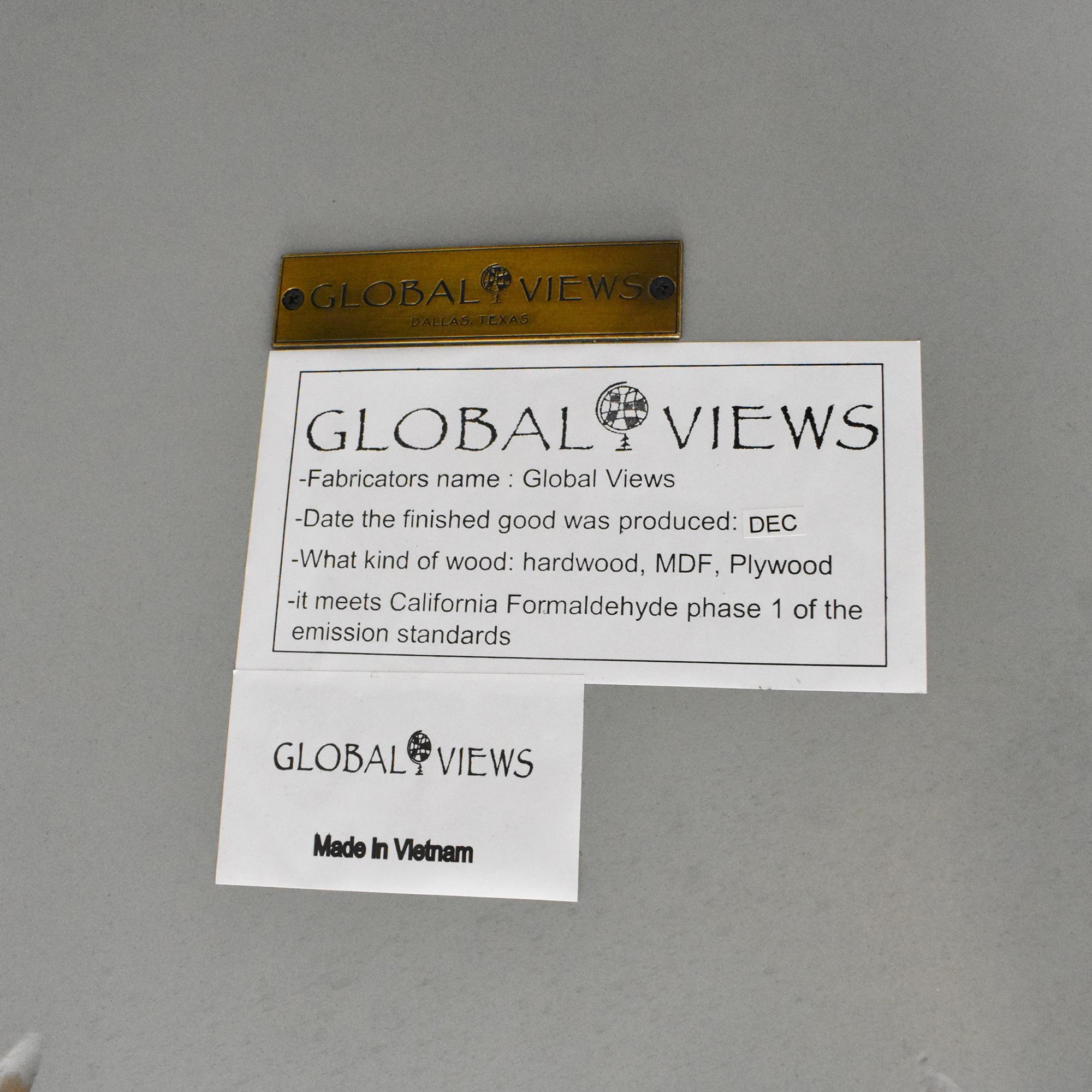 Global Views Global Views Jacobean End Table Tables