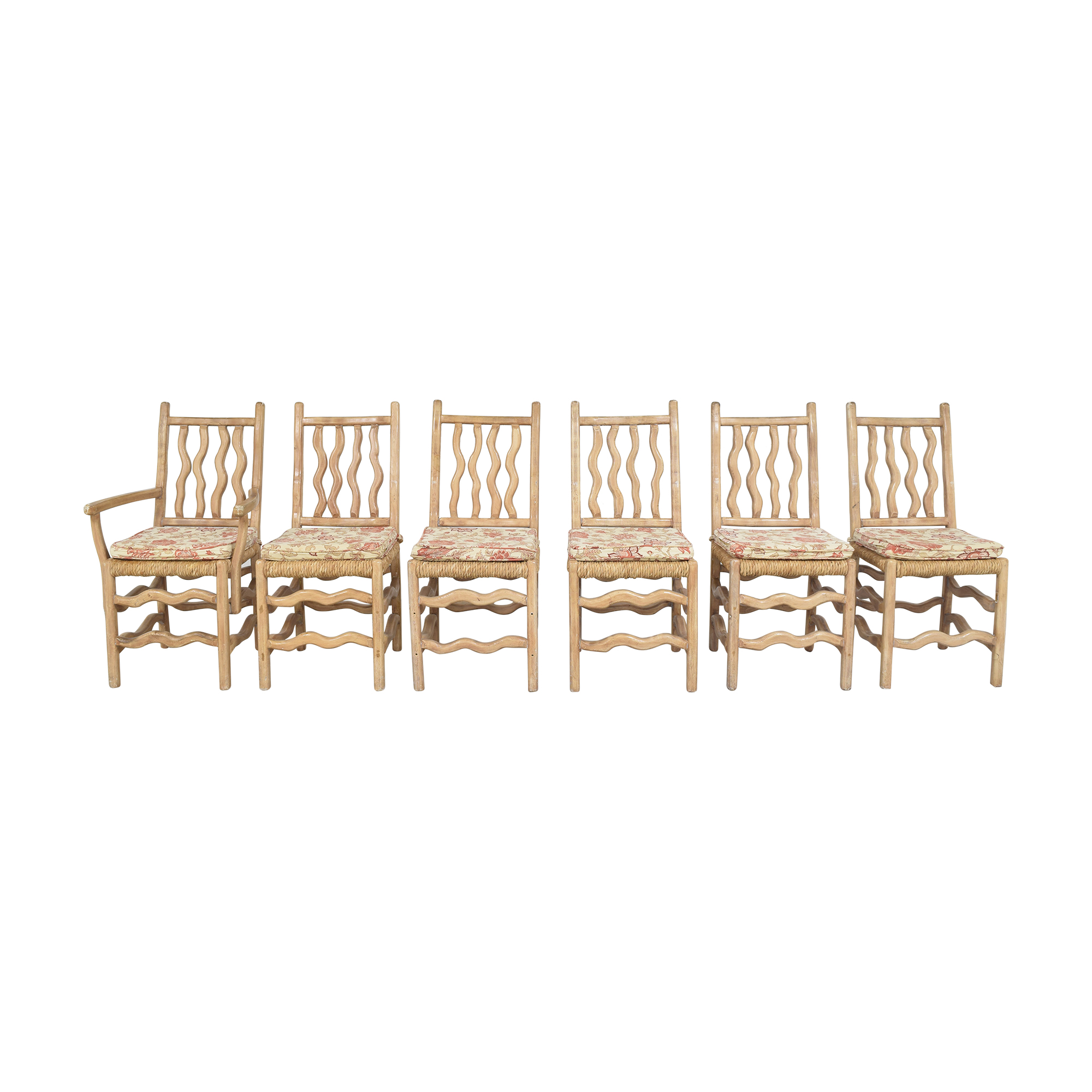 American Woodcrafters American Woodcrafters Cane Seat Dining Chairs price