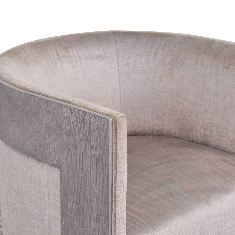 buy Bernhardt Cosway Modern Barrel Chair Bernhardt