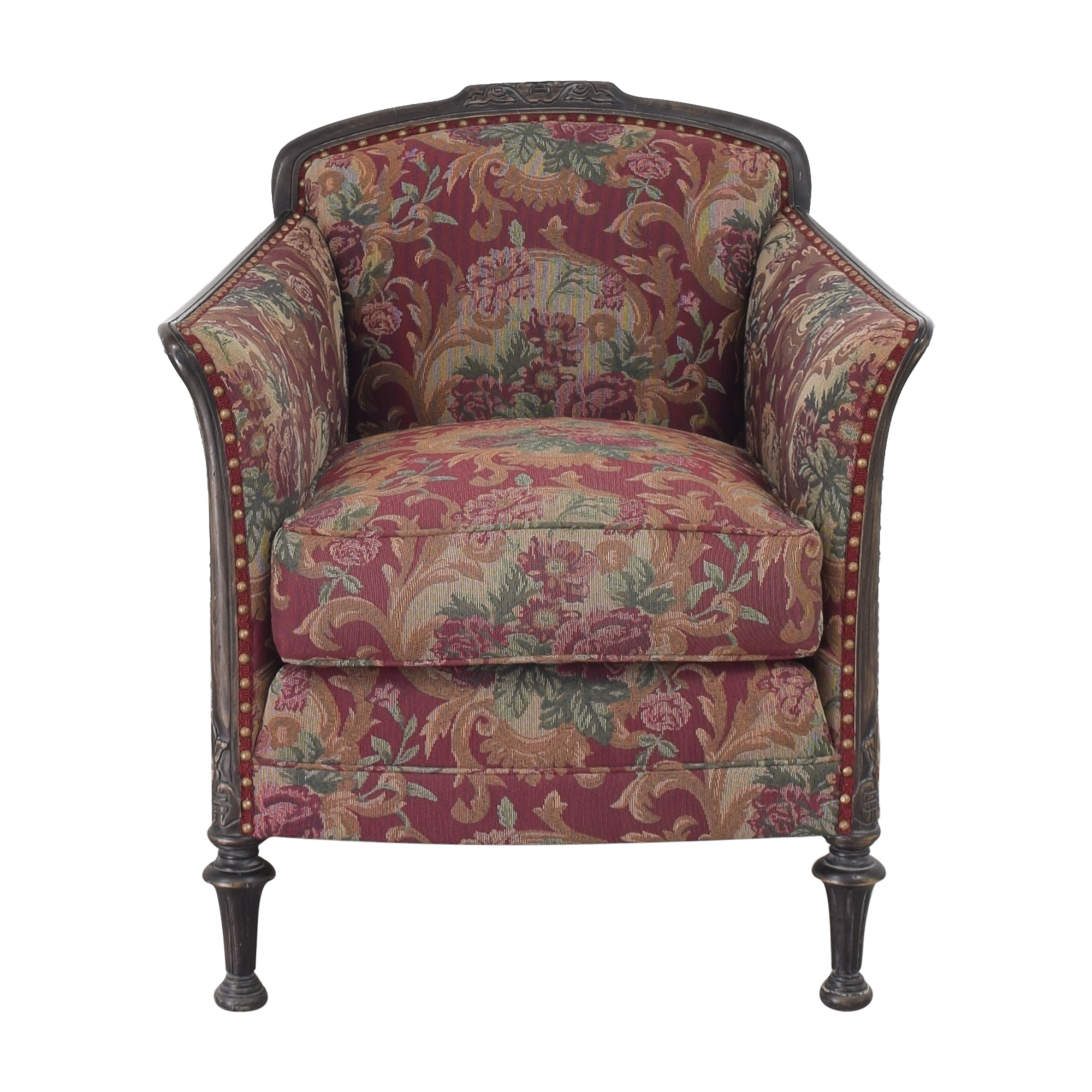 shop Statesville Furniture Ludon Accent Chair  Statesville Furniture