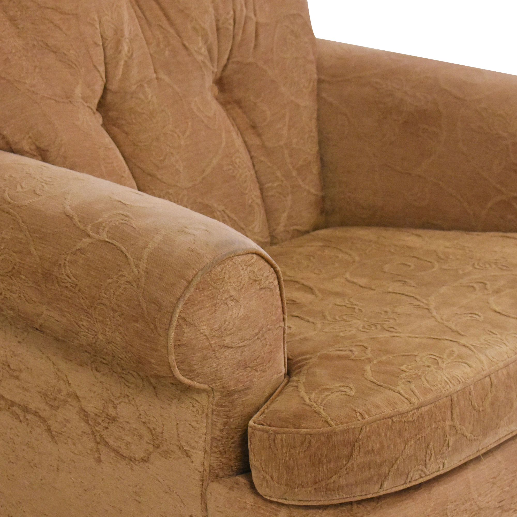 buy Oversized Roll Arm Accent Chair