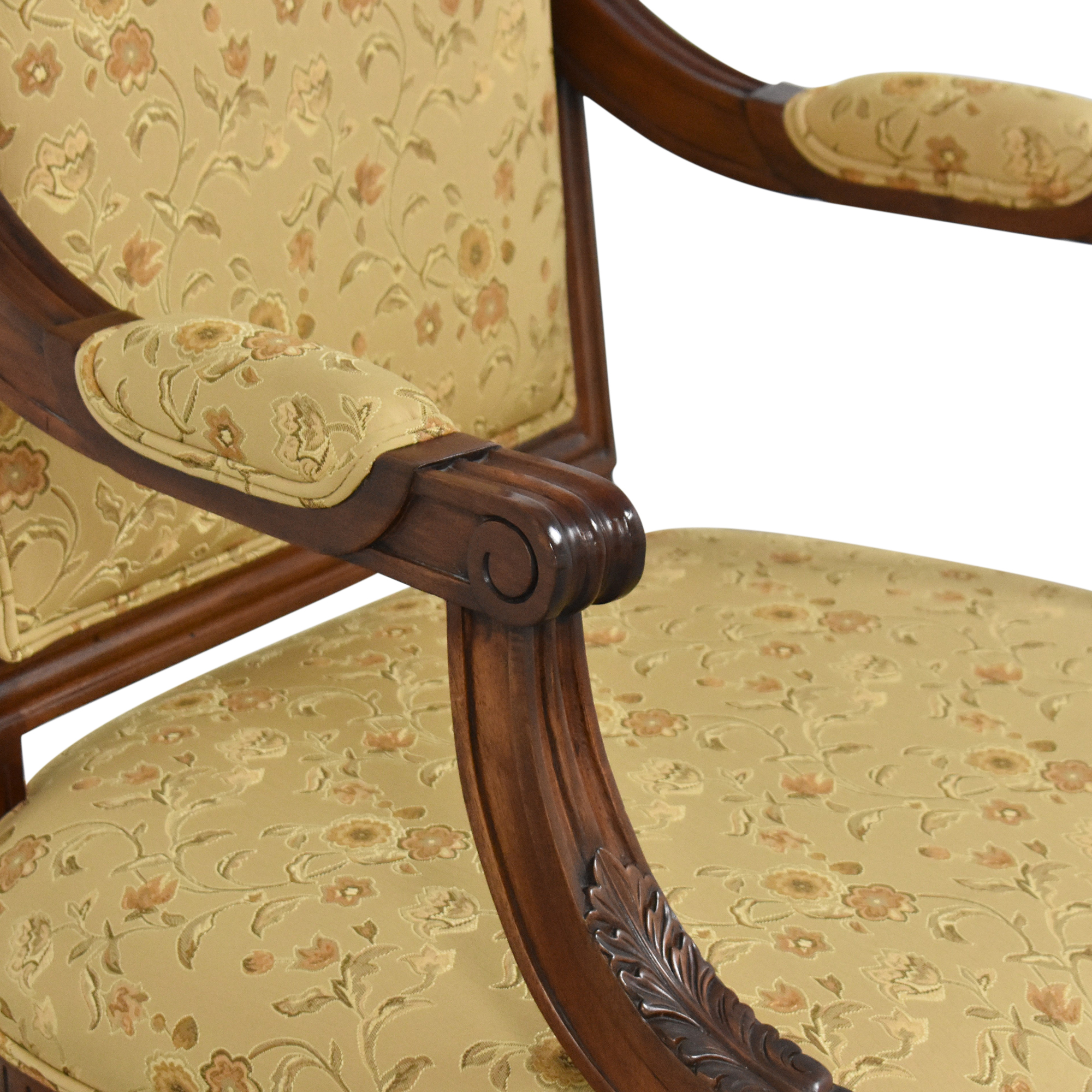 Custom Dining Arm Chair second hand
