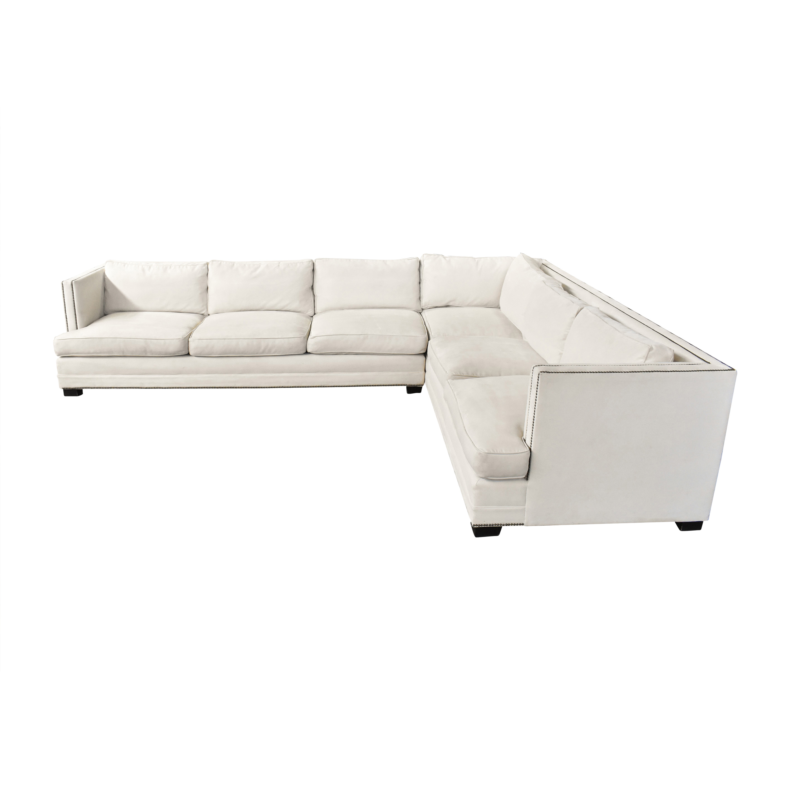 Restoration Hardware Restoration Hardware Keaton Sectional Sofa by Mitchell Gold + Bob Williams pa