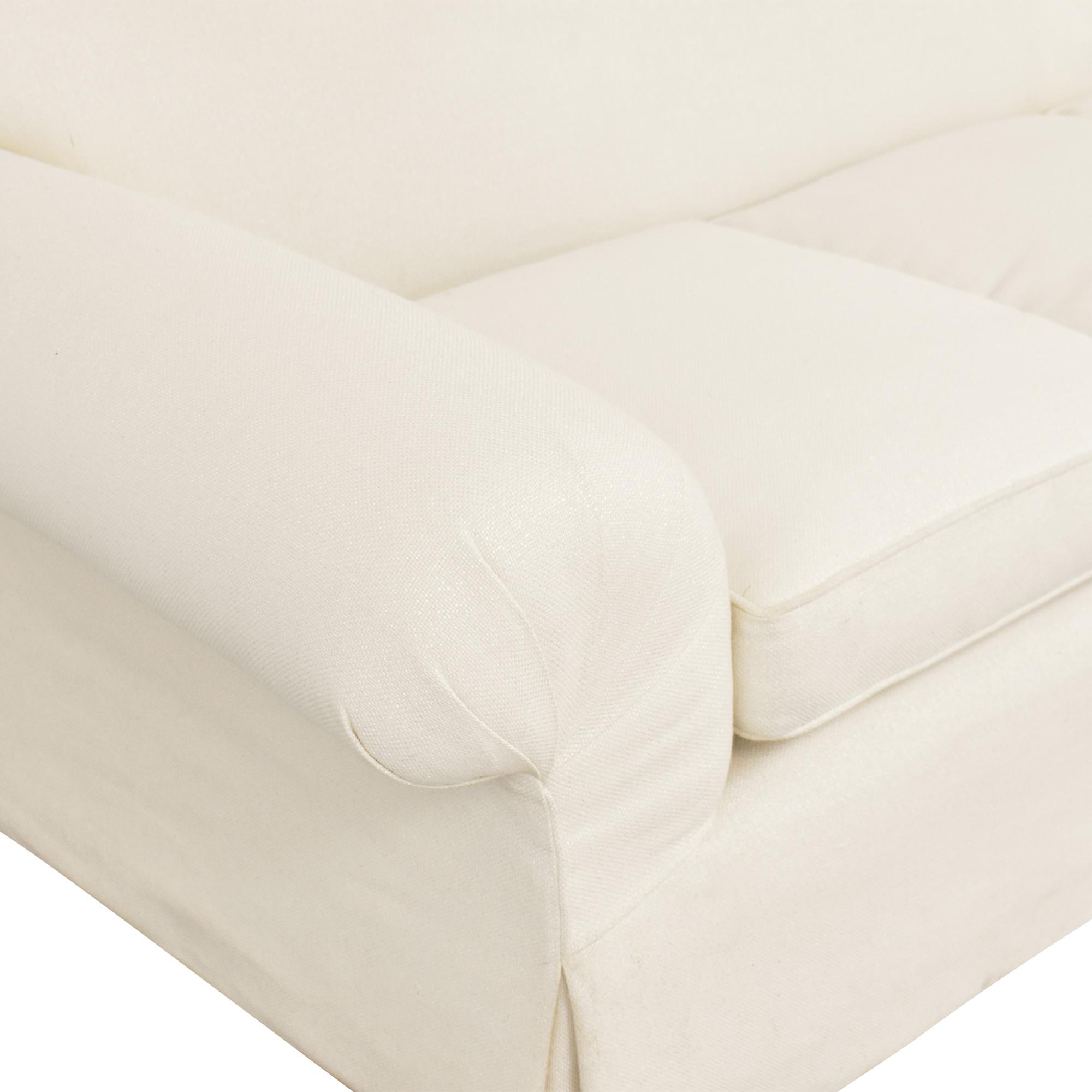 Skirted Roll Arm Sofa price