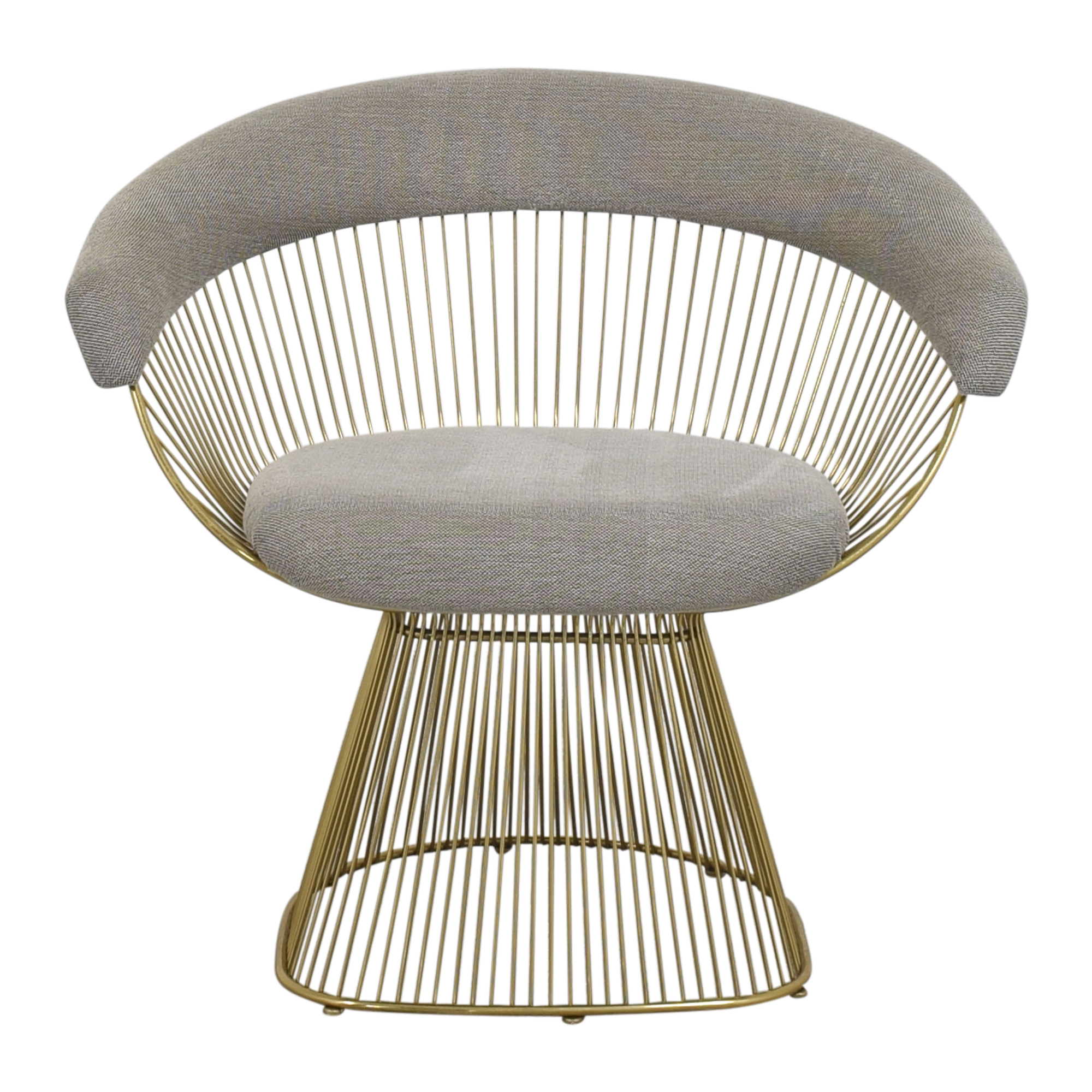 Platner-Style Soleil Accent Chair for sale