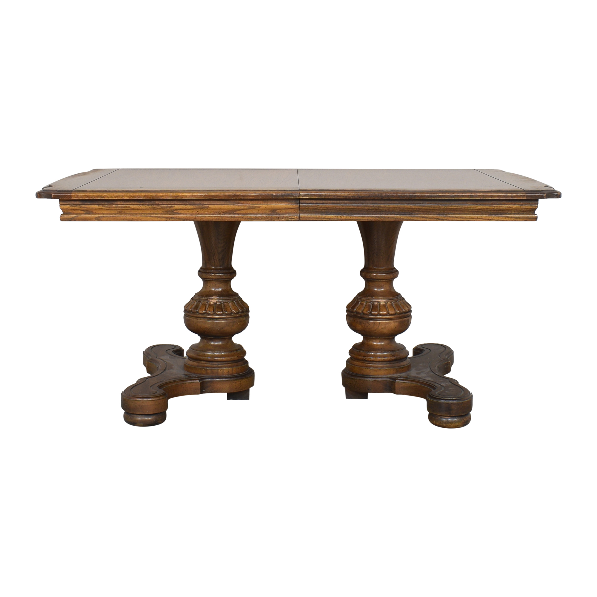 Extendable Dining Table brown