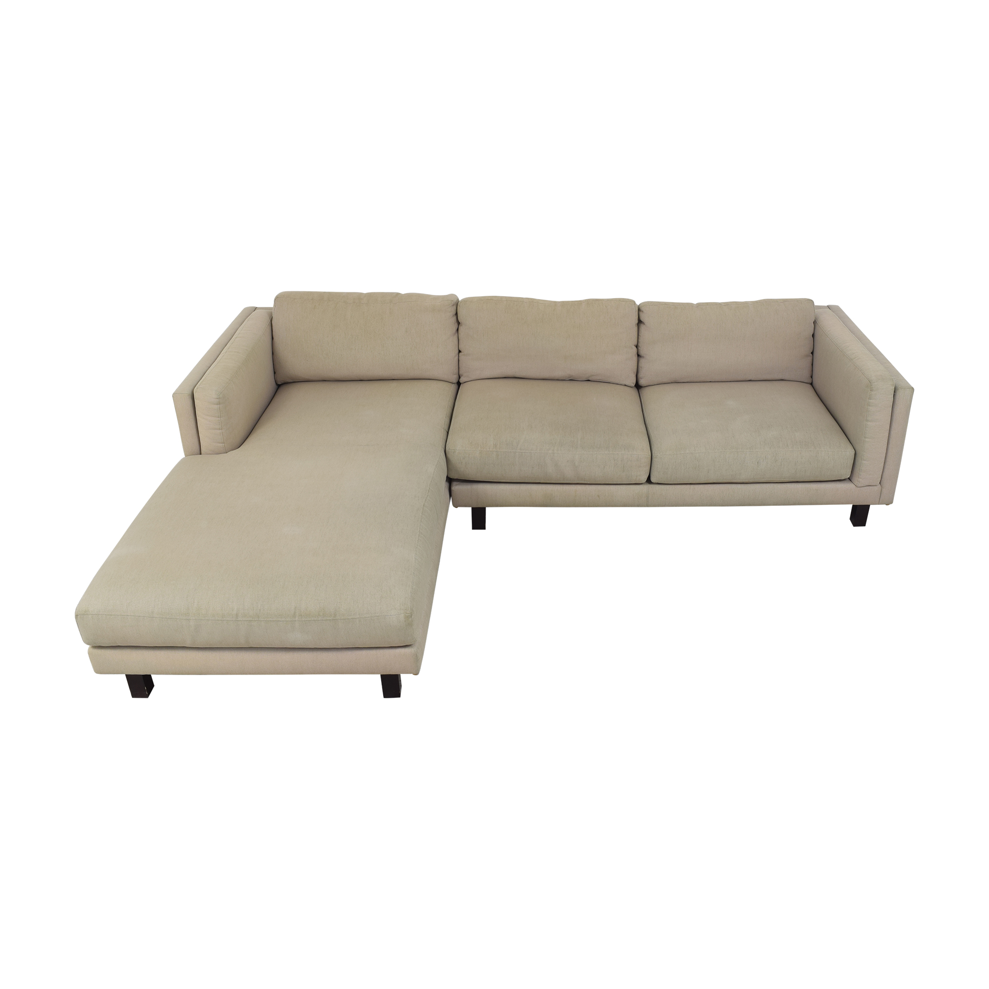 Room & Board Room & Board Chaise Sectional Sofa  nyc