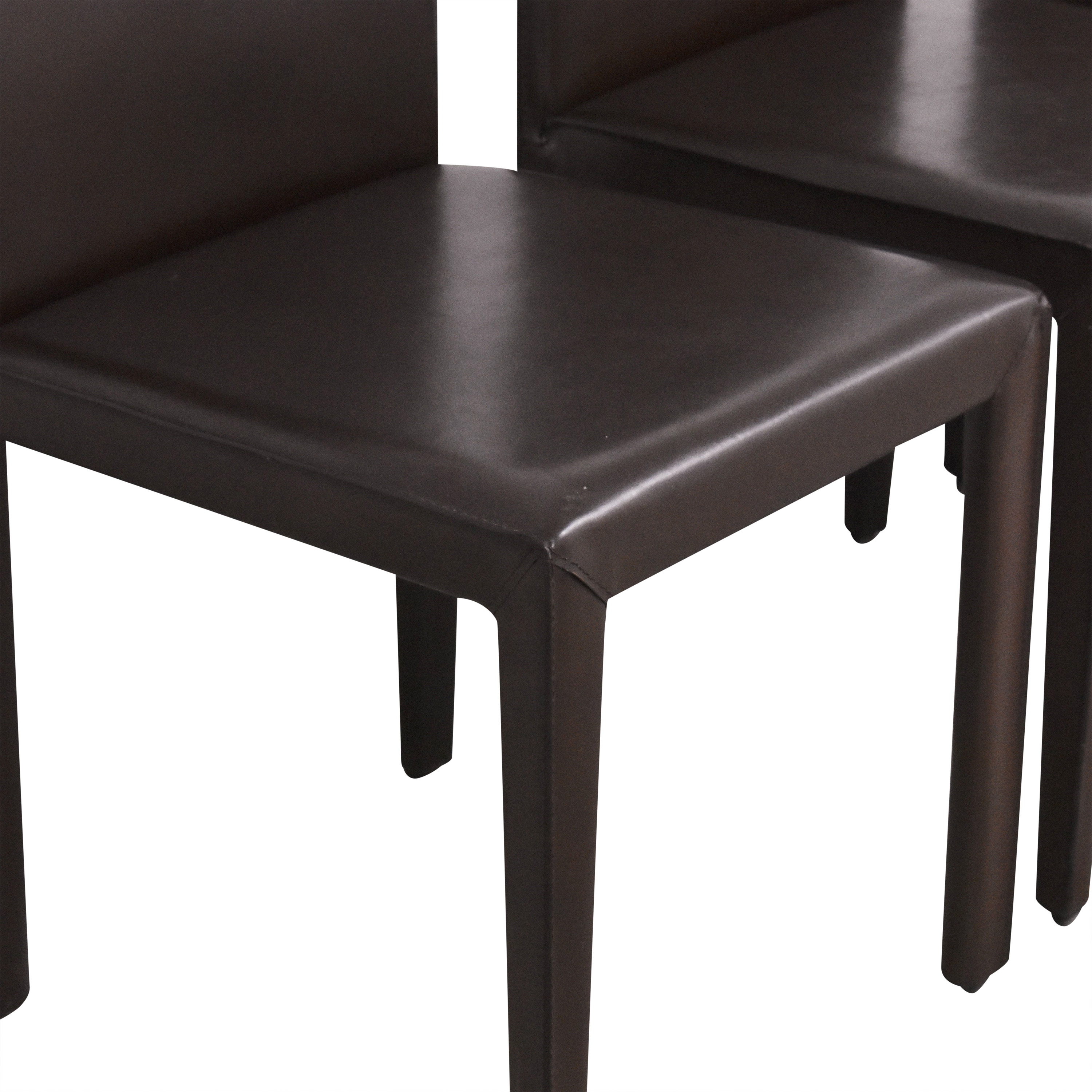 Crate & Barrel Crate & Barrel Folio Dining Chairs by Maria Yee ma