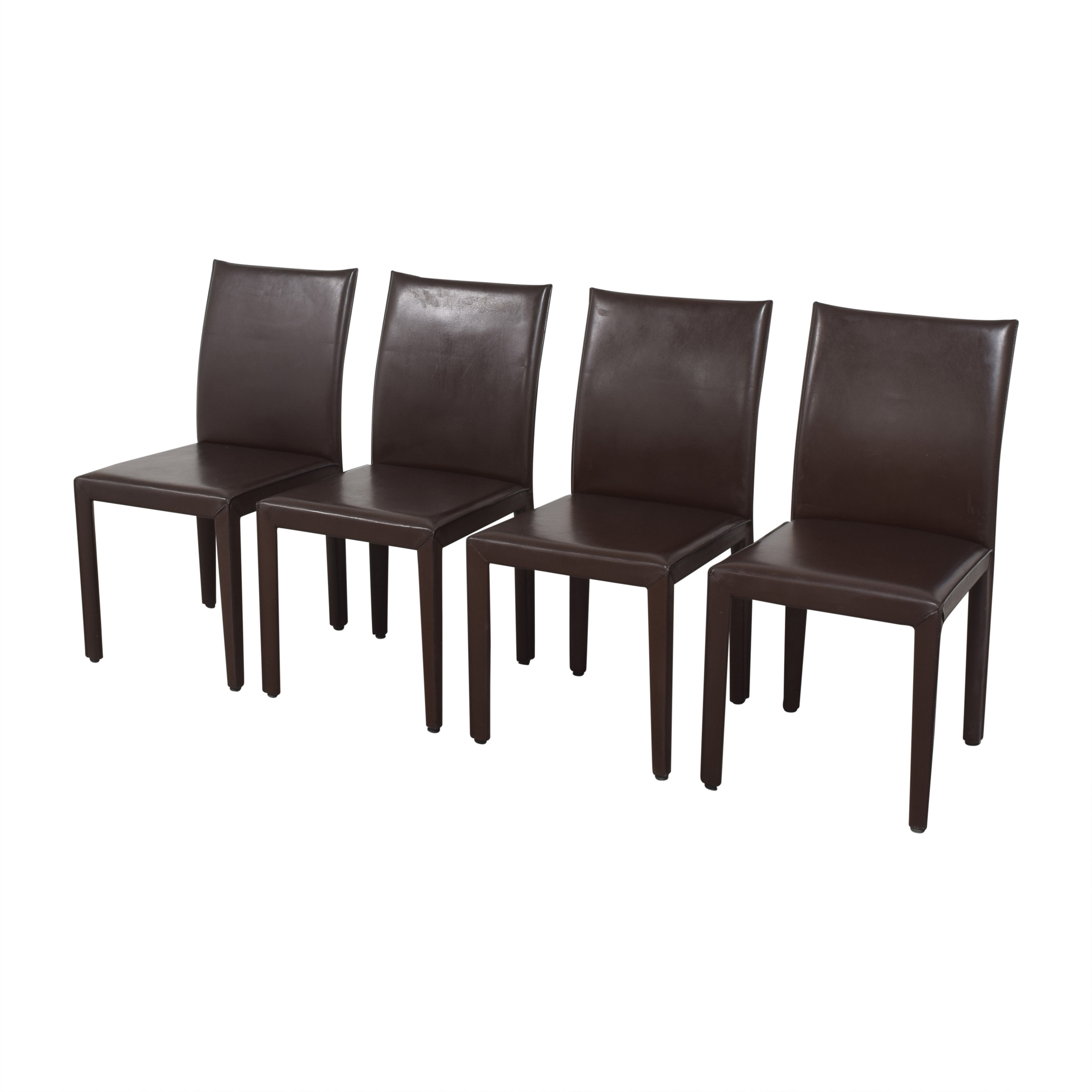Crate & Barrel Crate & Barrel Folio Dining Chairs by Maria Yee
