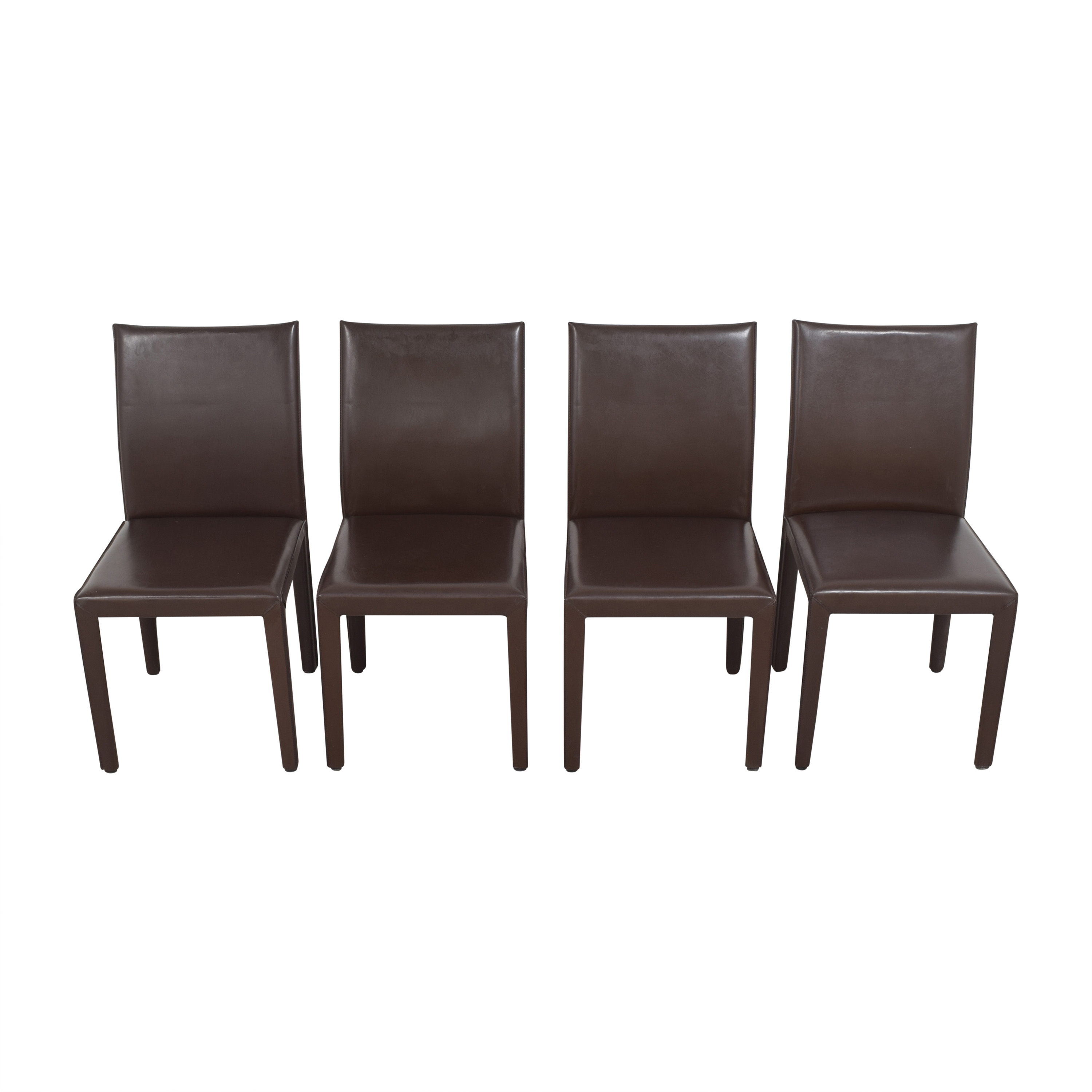 shop Crate & Barrel Crate & Barrel Folio Dining Chairs by Maria Yee online