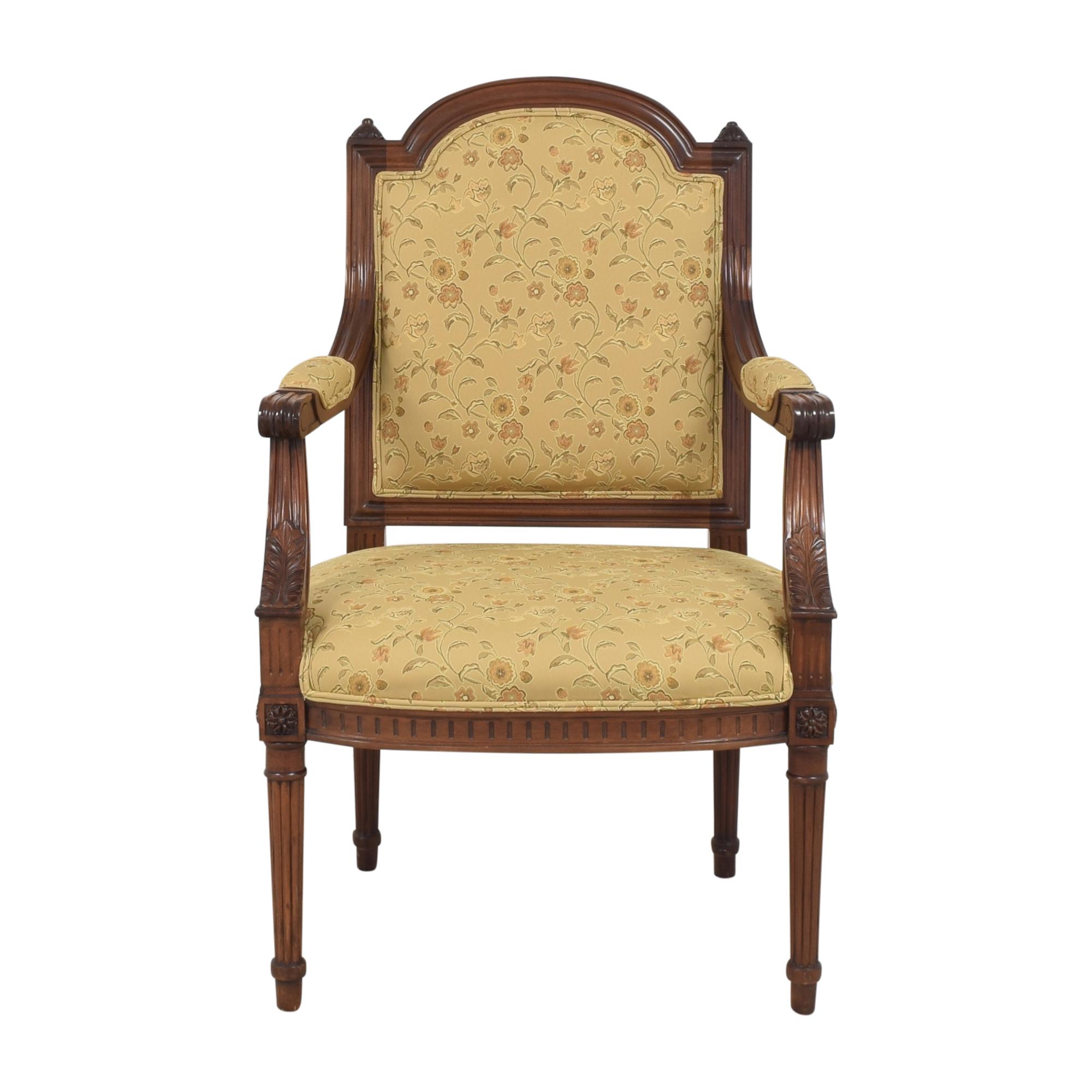 Custom Floral Arm Chair second hand