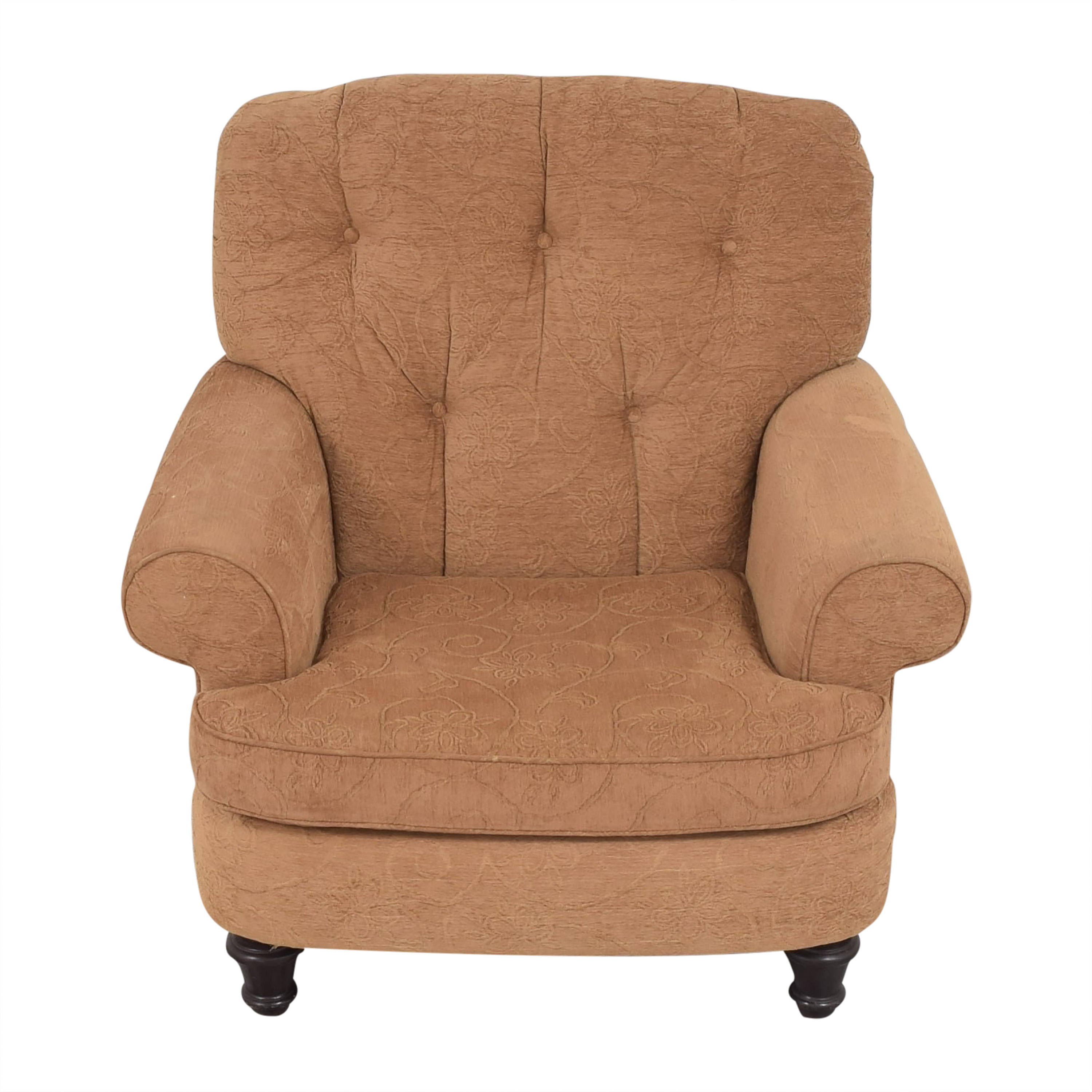 Oversized Roll Arm Accent Chair second hand
