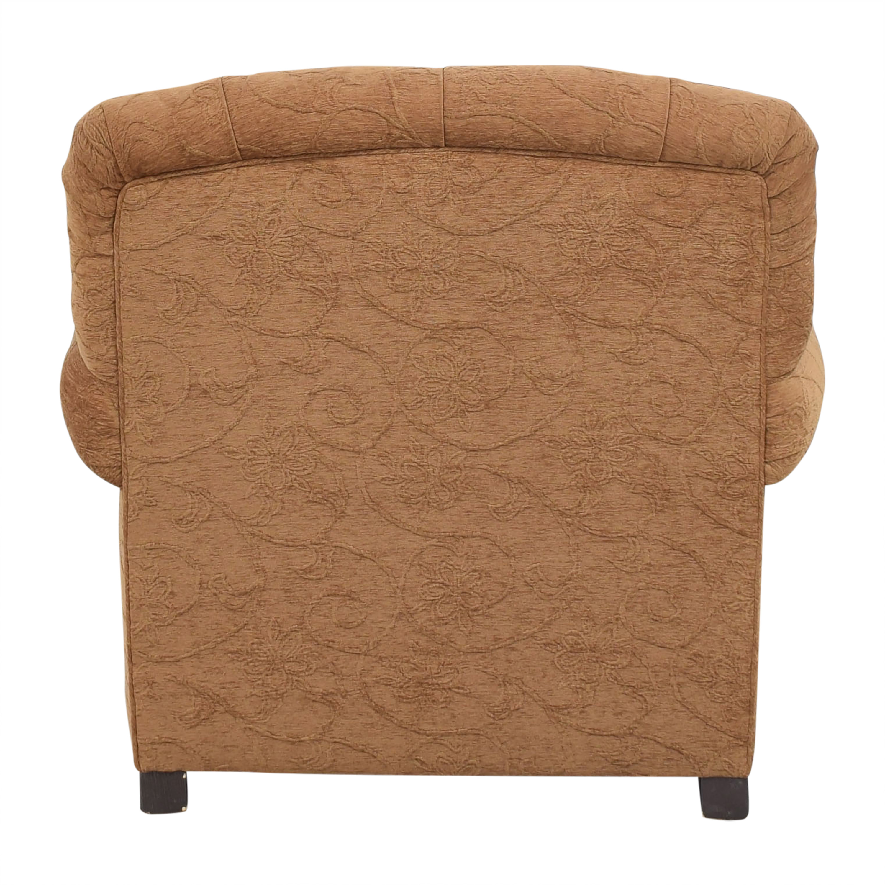 Oversized Roll Arm Accent Chair ma