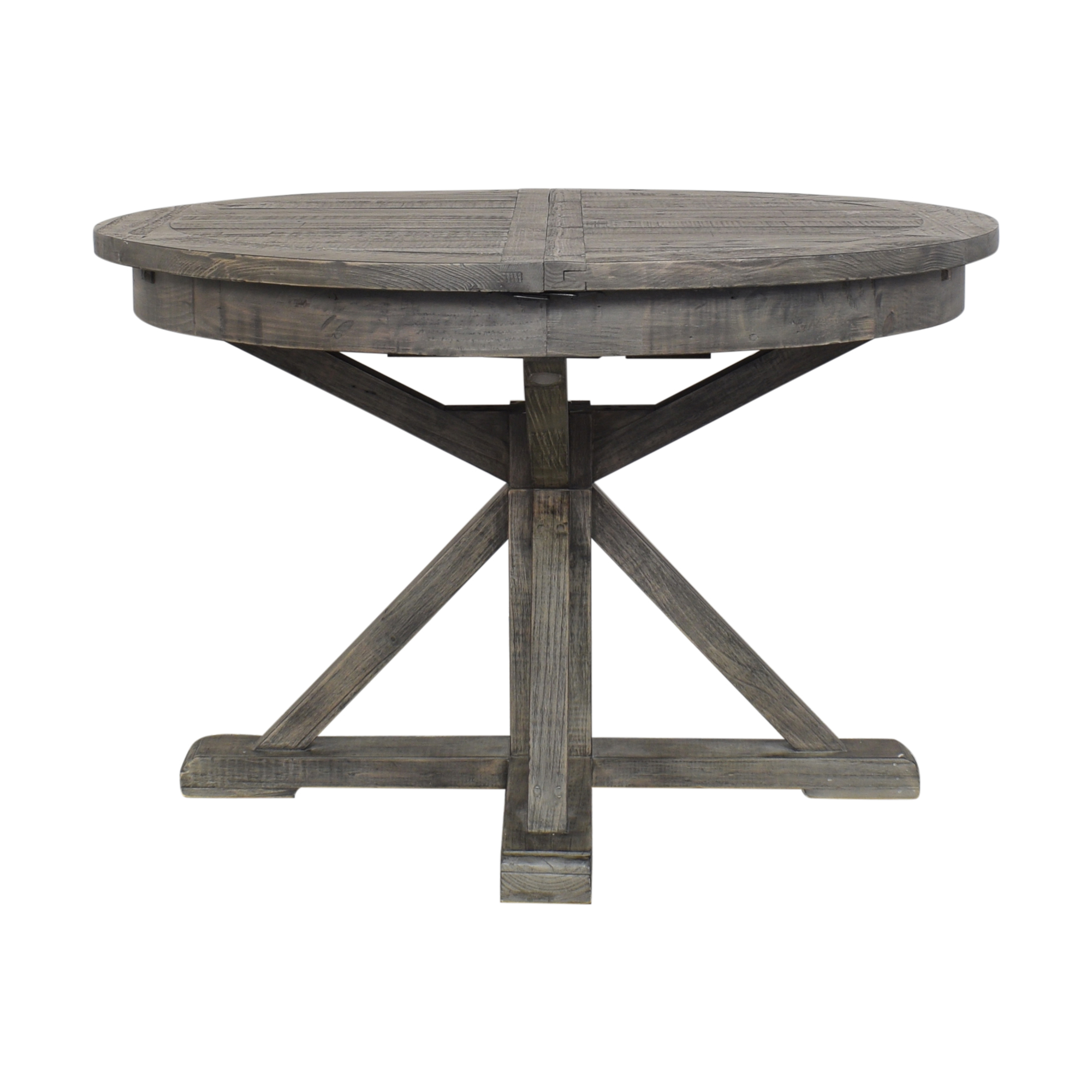 Pottery Barn Hart Round Reclaimed Dining Table Pottery Barn