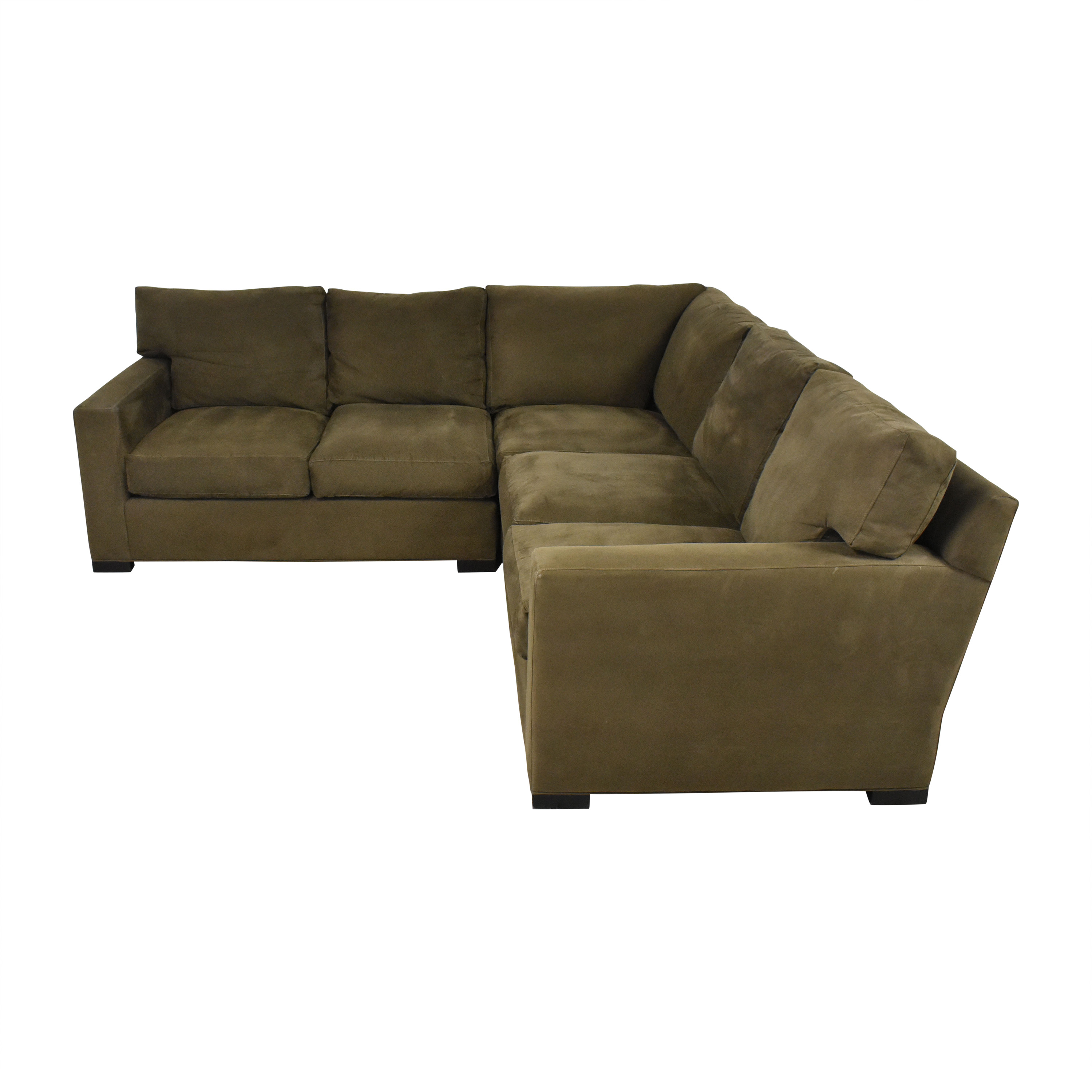 Crate & Barrel Crate & Barrel Axis Three Piece Sectional Sofa Sectionals