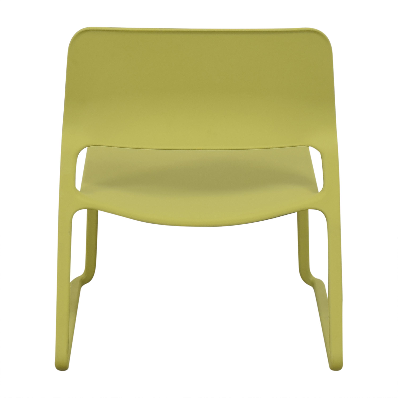 Knoll Knoll Spark Lounge Chair green