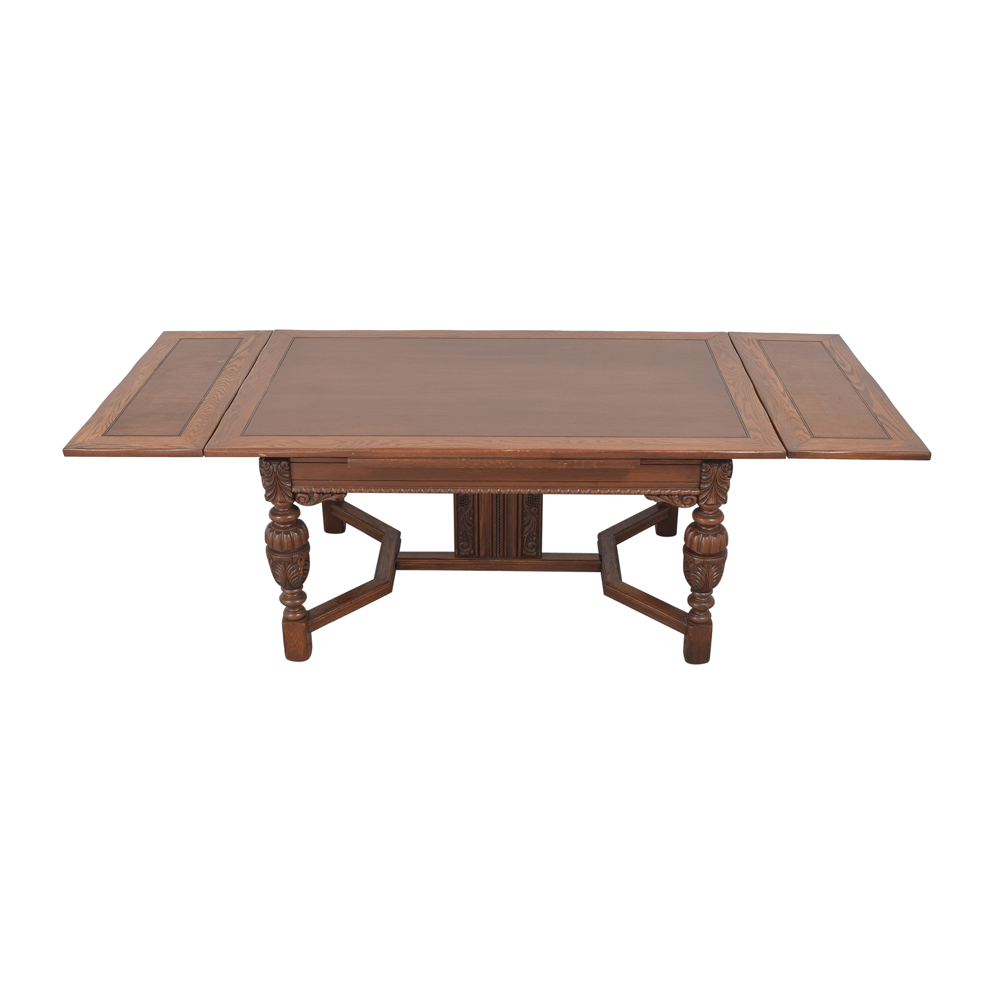 Stiehl Furniture Stiehl Furniture Extendable Trestle Dining Table ct