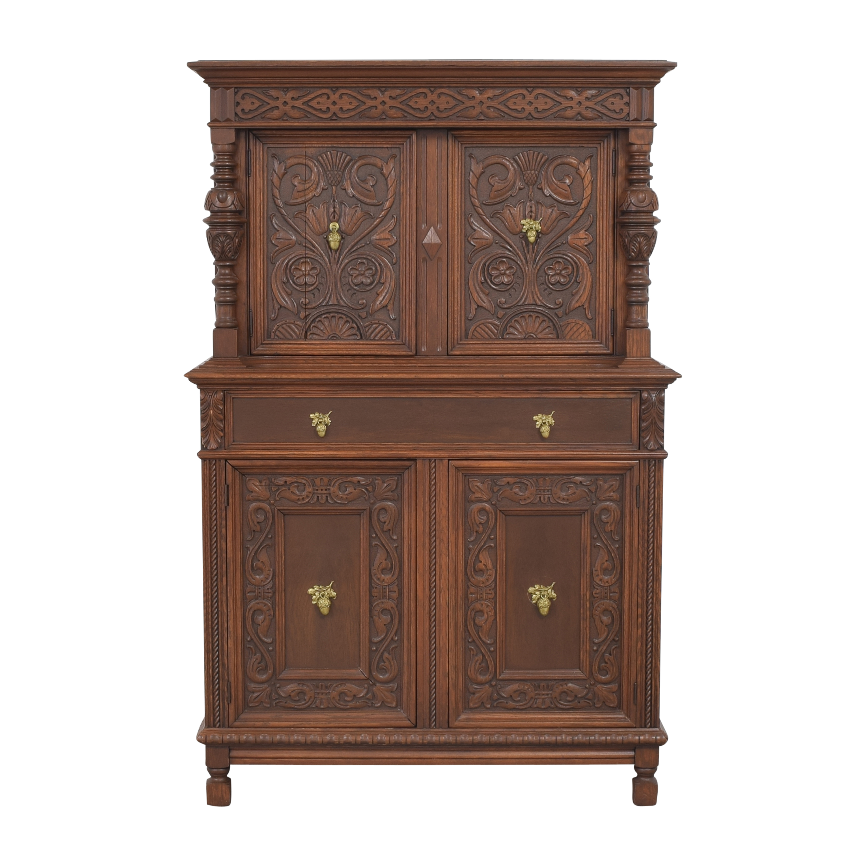 Stiehl Furniture Stiehl Furniture Carved Cabinet price