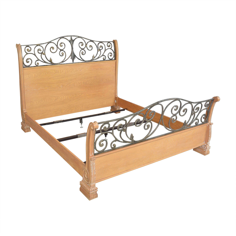 Lexington Furniture Lexington King Sleigh Bed brown