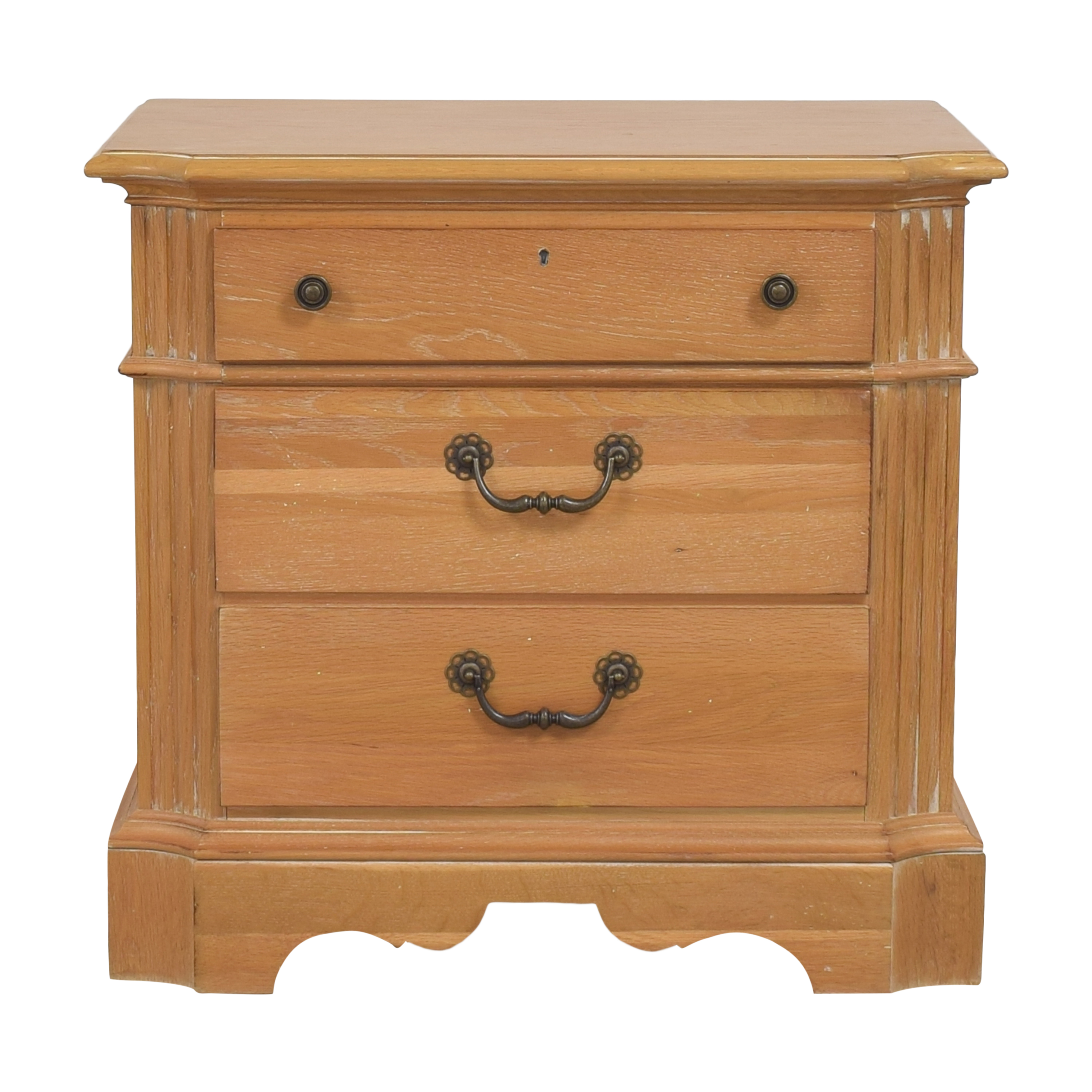 shop Lexington Furniture Three Drawer Nightstand Lexington Furniture End Tables
