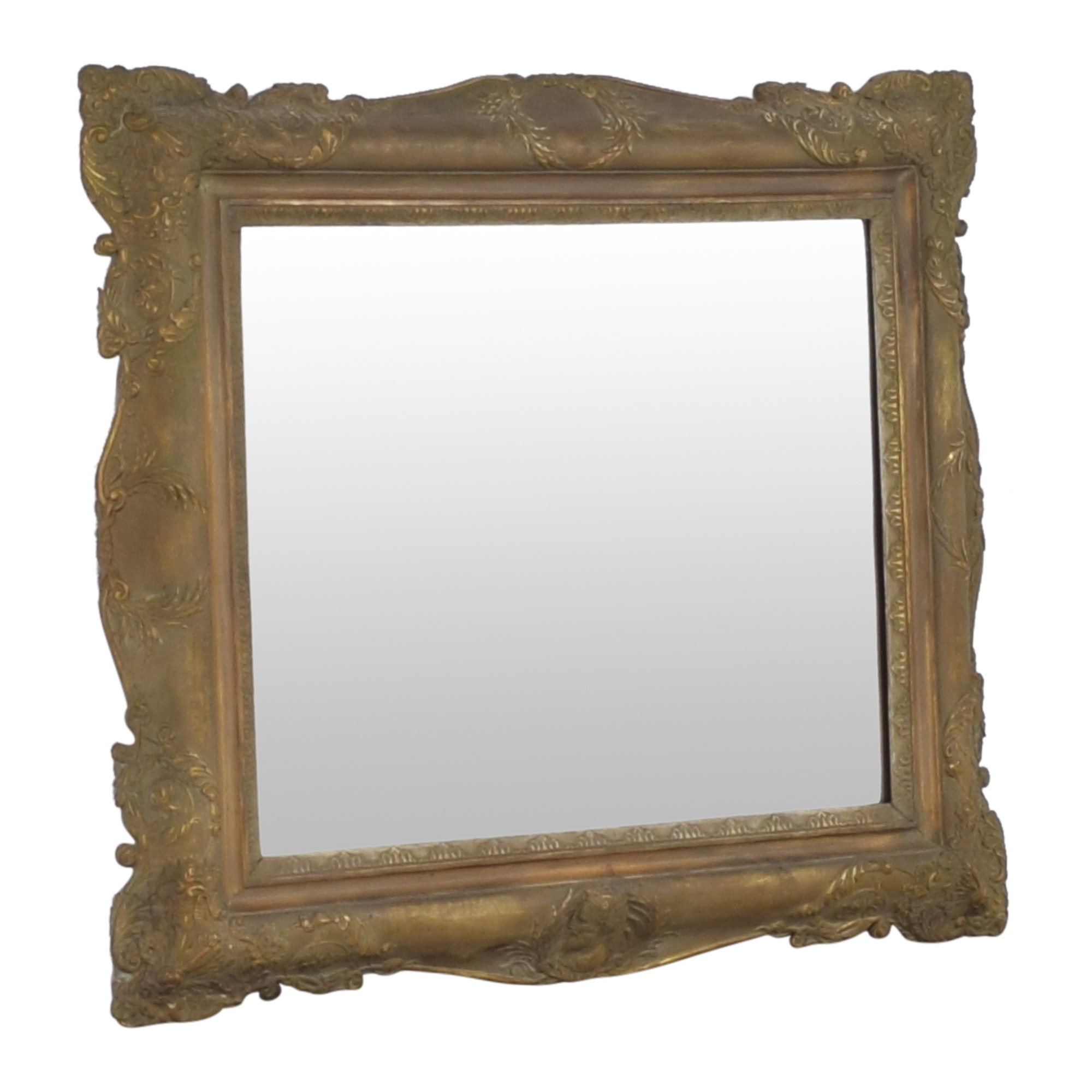 Antique Framed Wall Mirror on sale